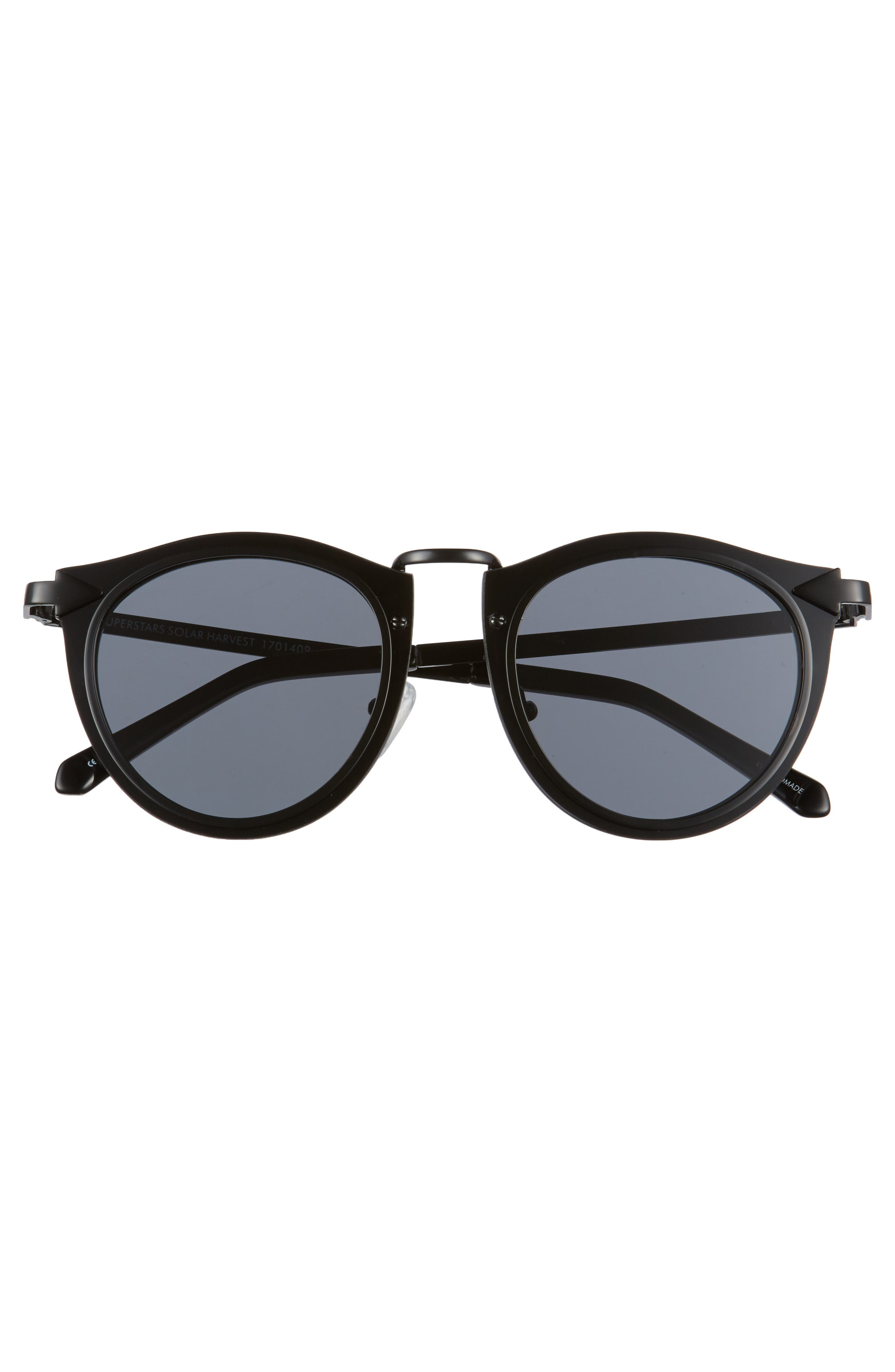 Superstars - Solar 50mm Retro Sunglasses,                             Alternate thumbnail 3, color,                             001