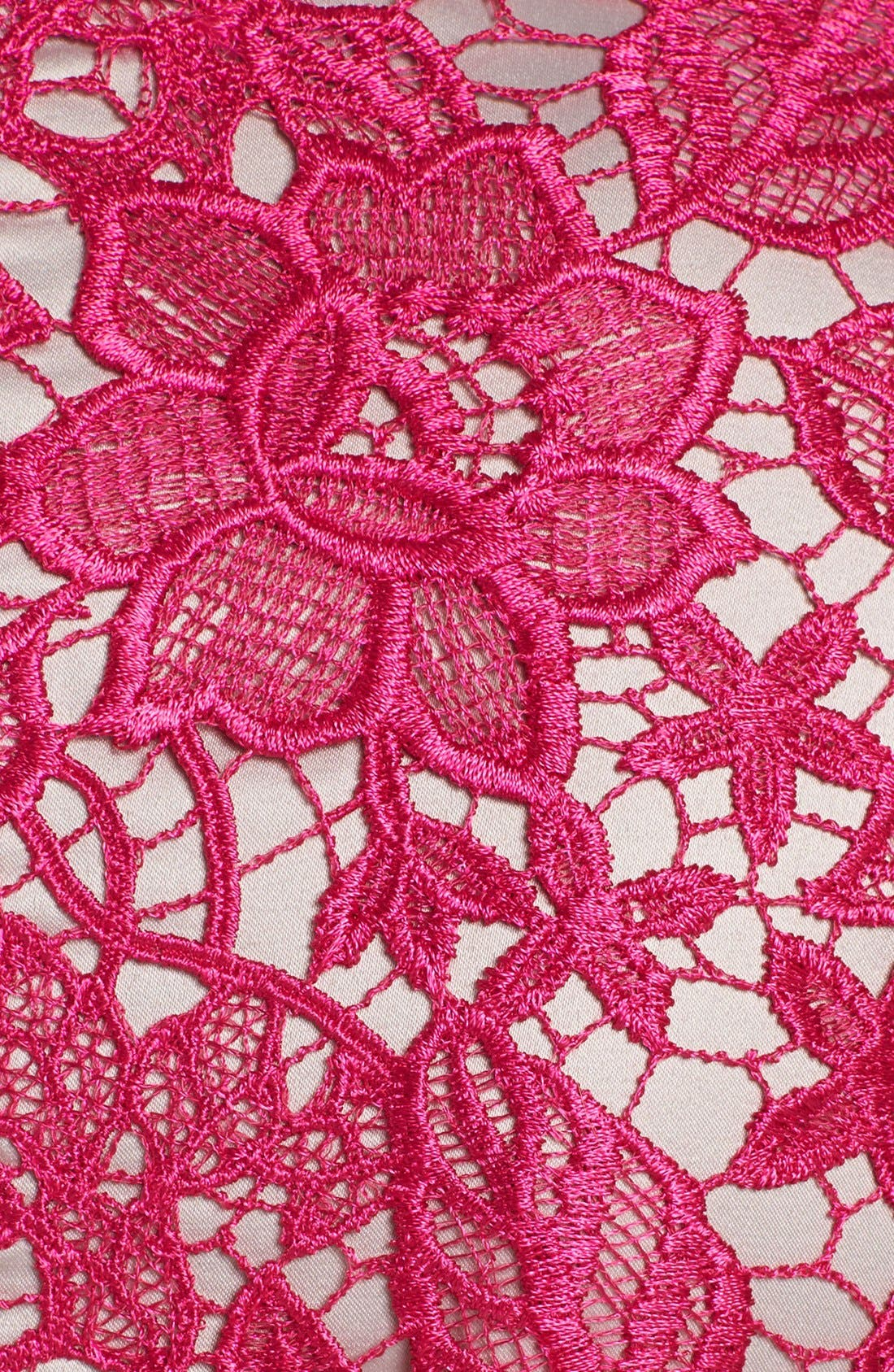 ELIZA J,                             Lace Fit & Flare Dress,                             Alternate thumbnail 2, color,                             660