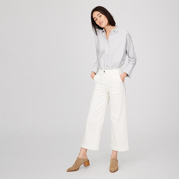 Pop-In@Nordstrom Welcomes Everlane: Women's Japanese oxford square shirt, $68.