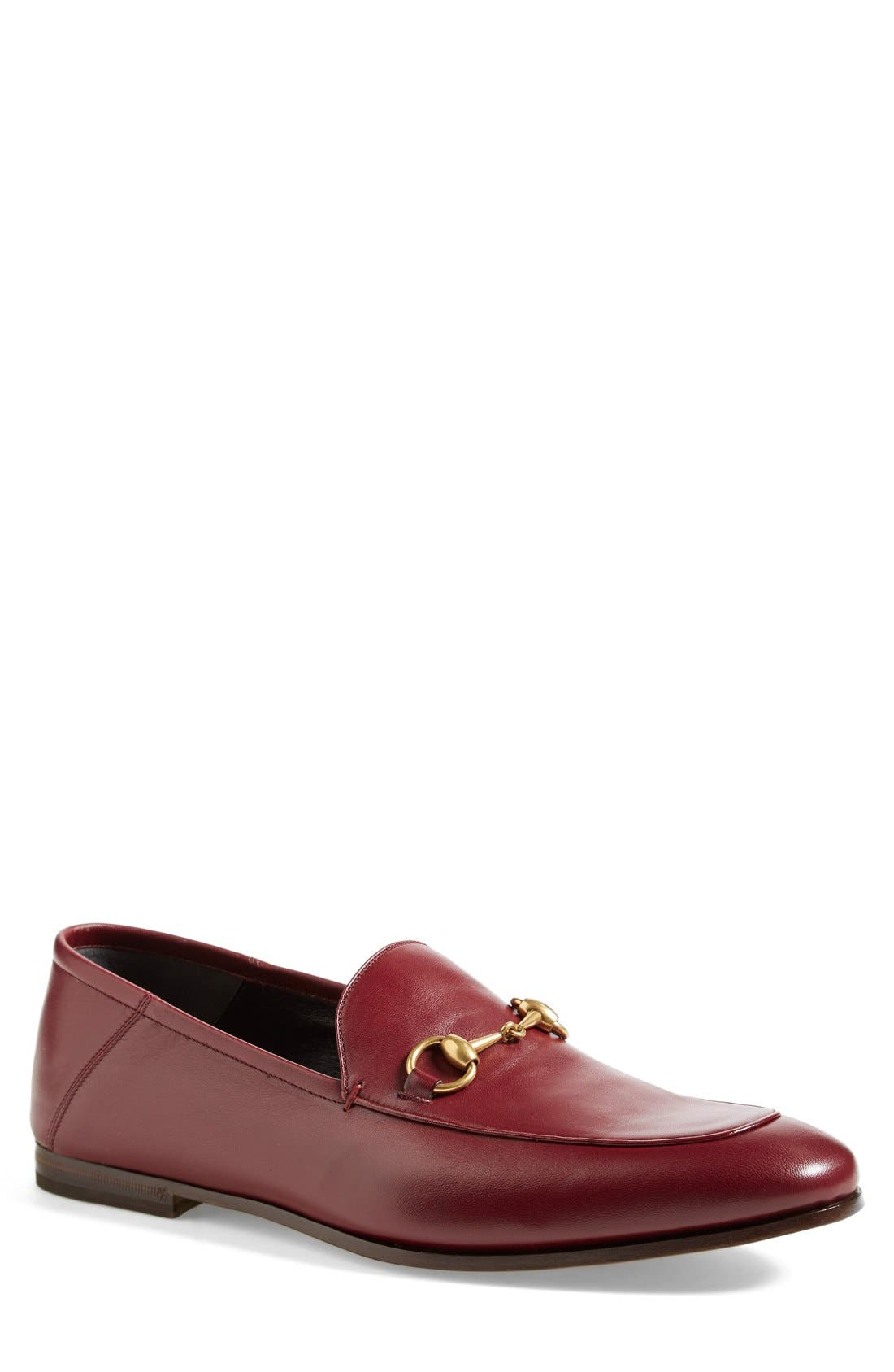 Brixton Leather Loafer,                             Main thumbnail 5, color,