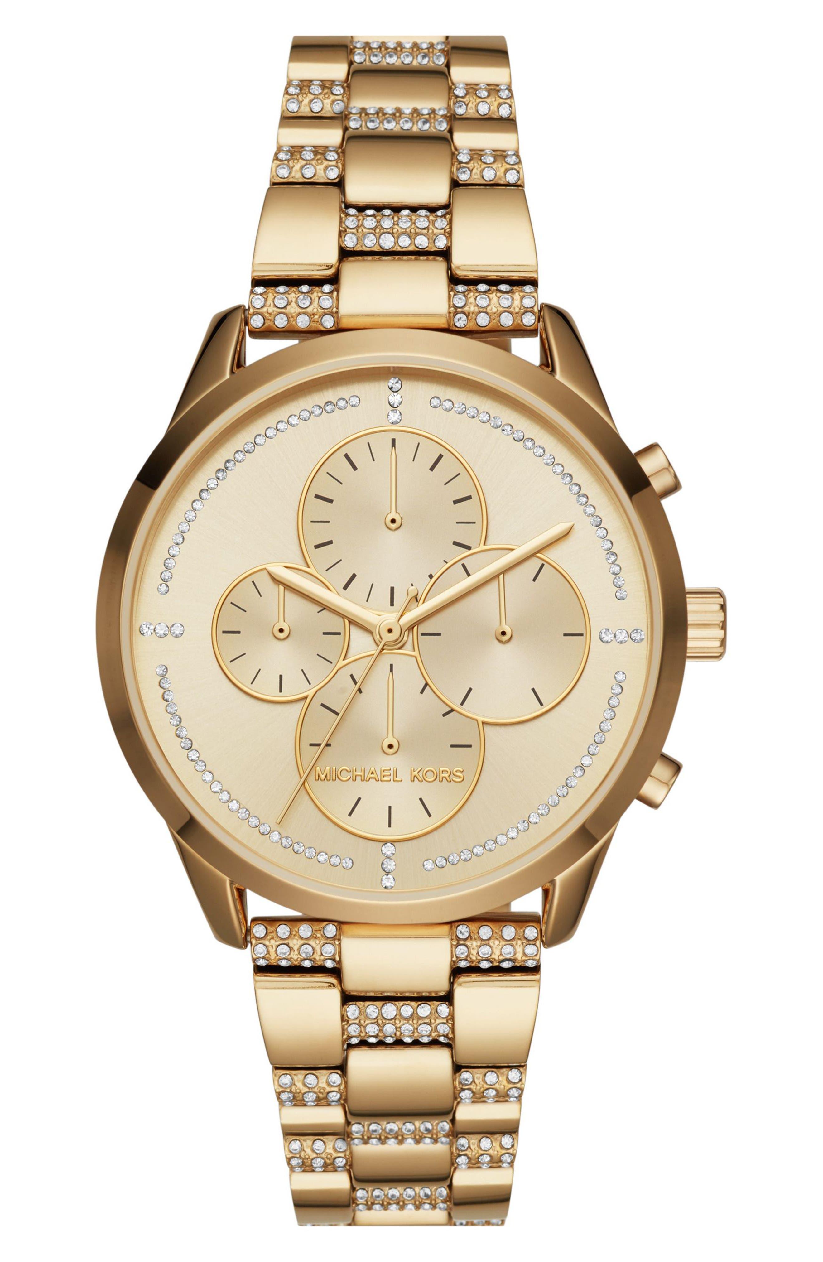 Slater Chronograph Bracelet Watch, 40mm,                             Main thumbnail 4, color,