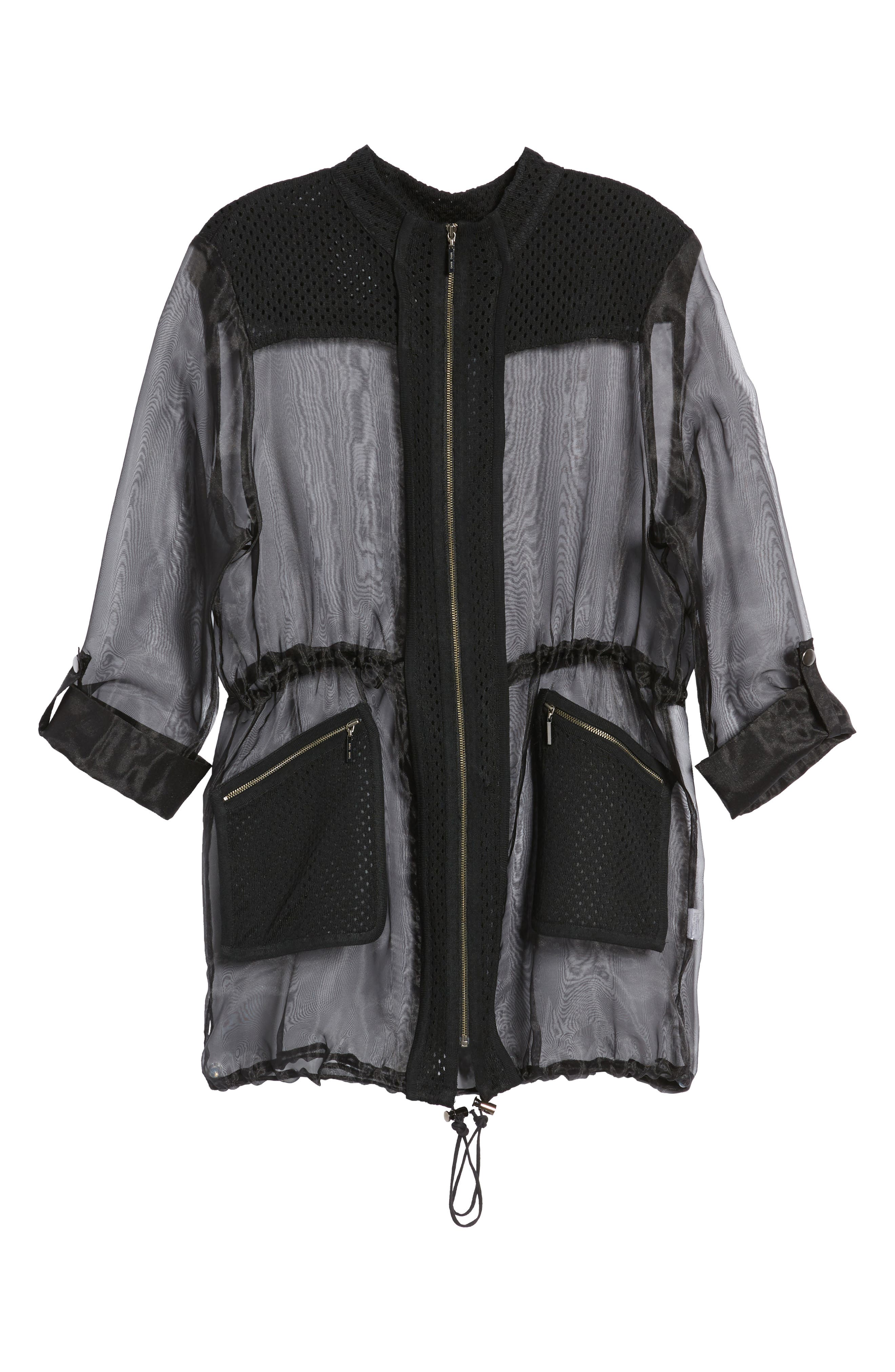 Sheer Jacket,                             Alternate thumbnail 5, color,                             001