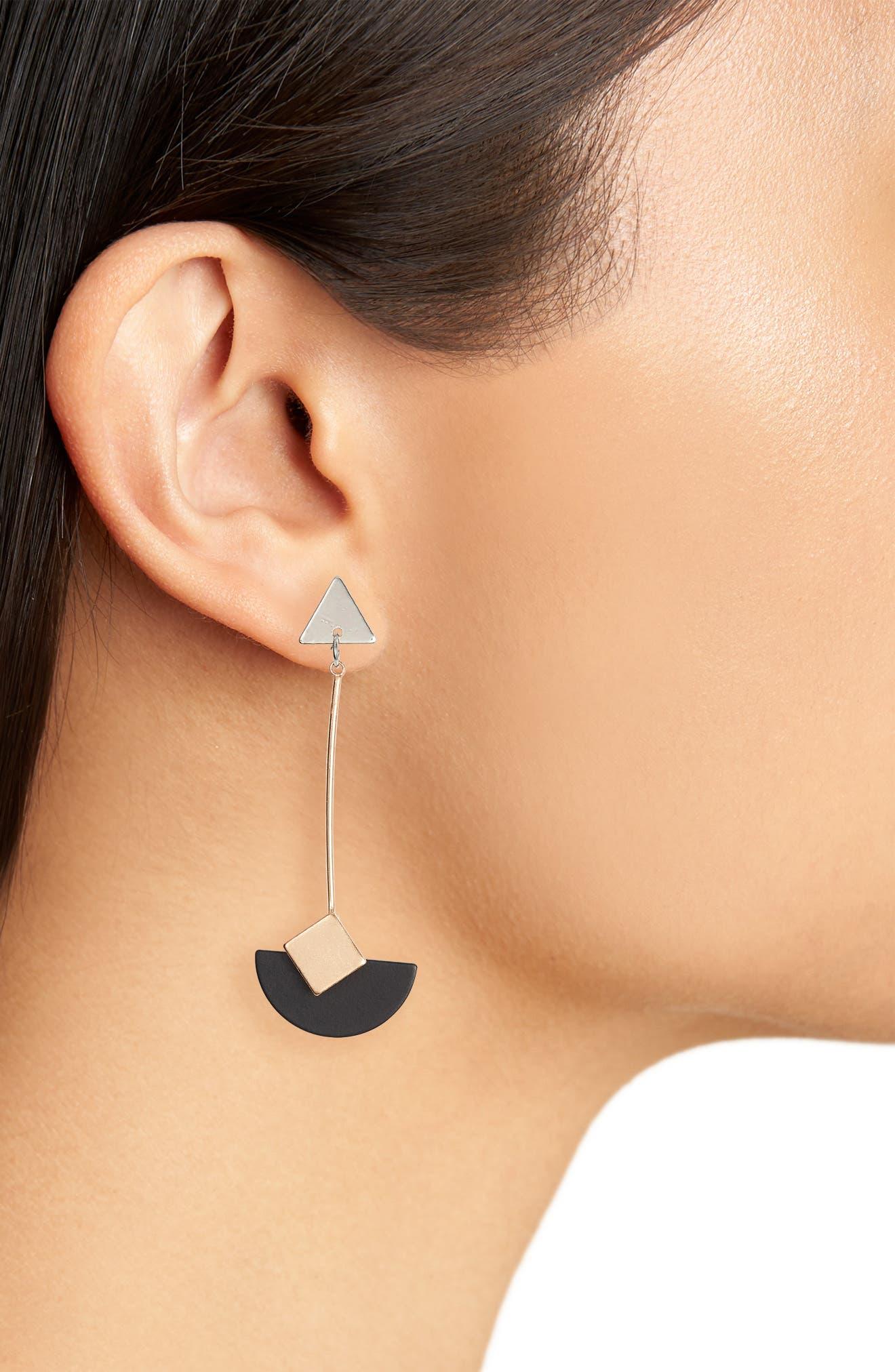 Fairlee Drop Earrings,                             Alternate thumbnail 2, color,                             MULTI