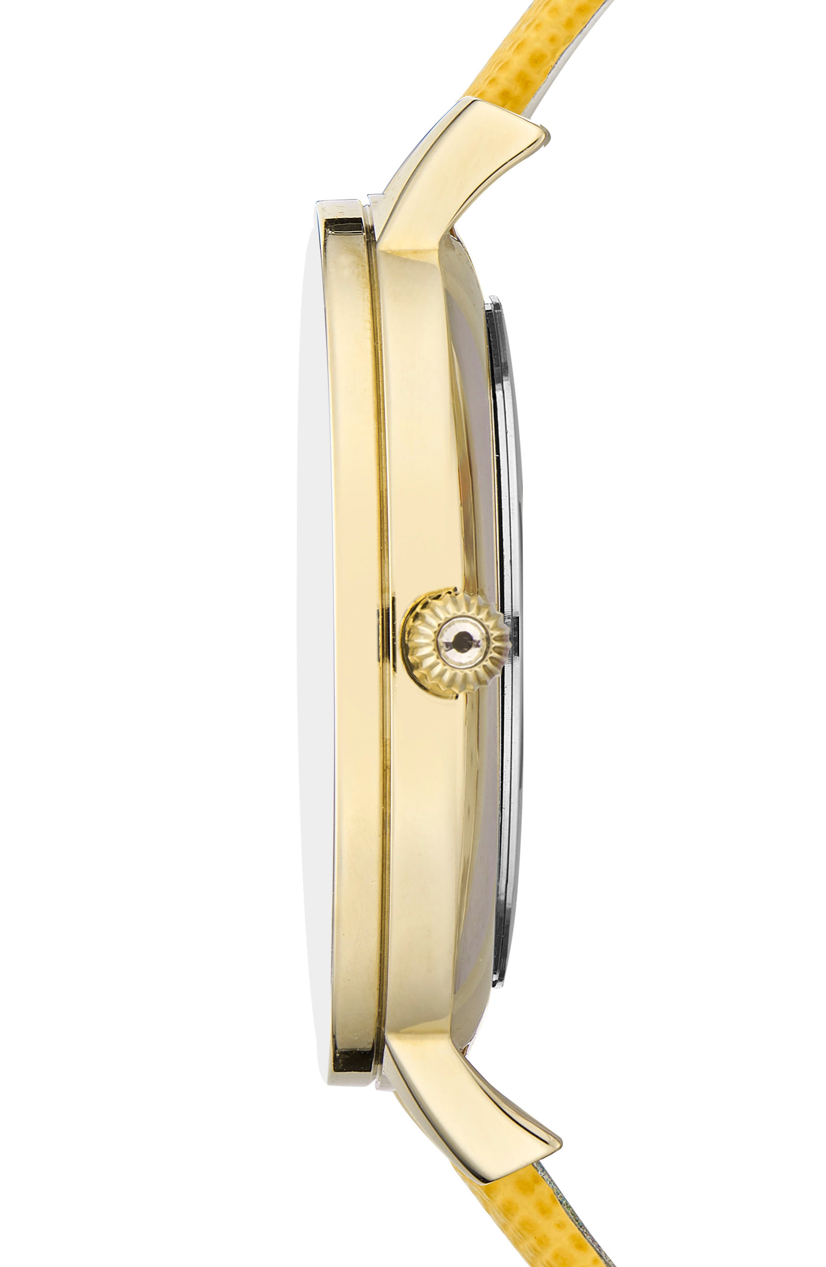 Kate Leather Strap Watch, 36mm,                             Alternate thumbnail 12, color,