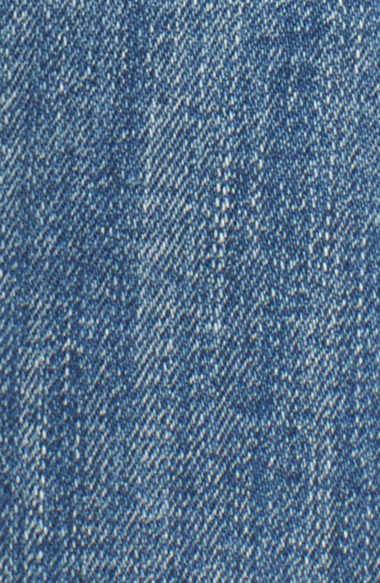 Jagger Crop Straight Leg Jeans,                             Alternate thumbnail 6, color,                             400