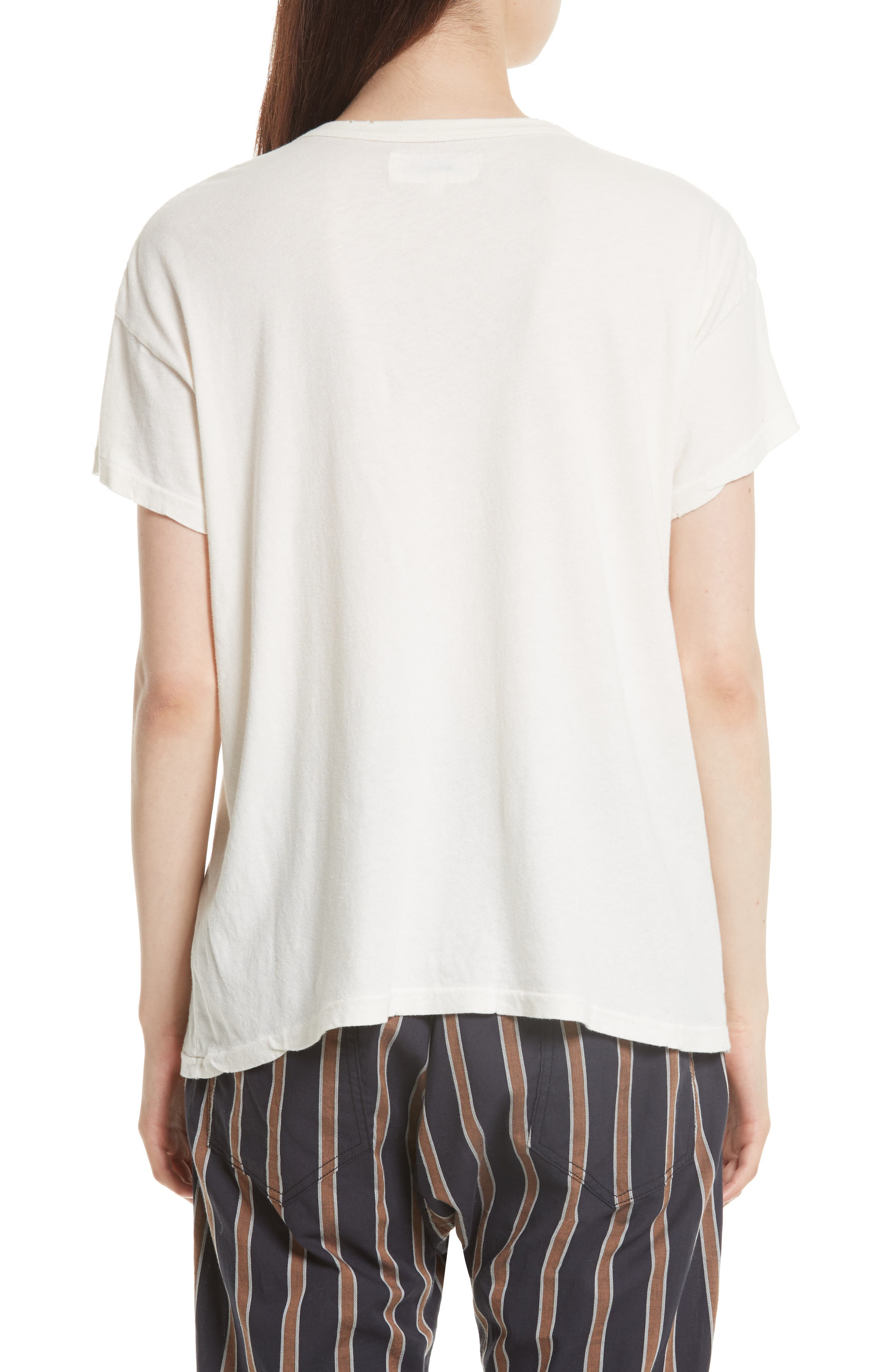 The Boxy Graphic Tee,                             Alternate thumbnail 6, color,