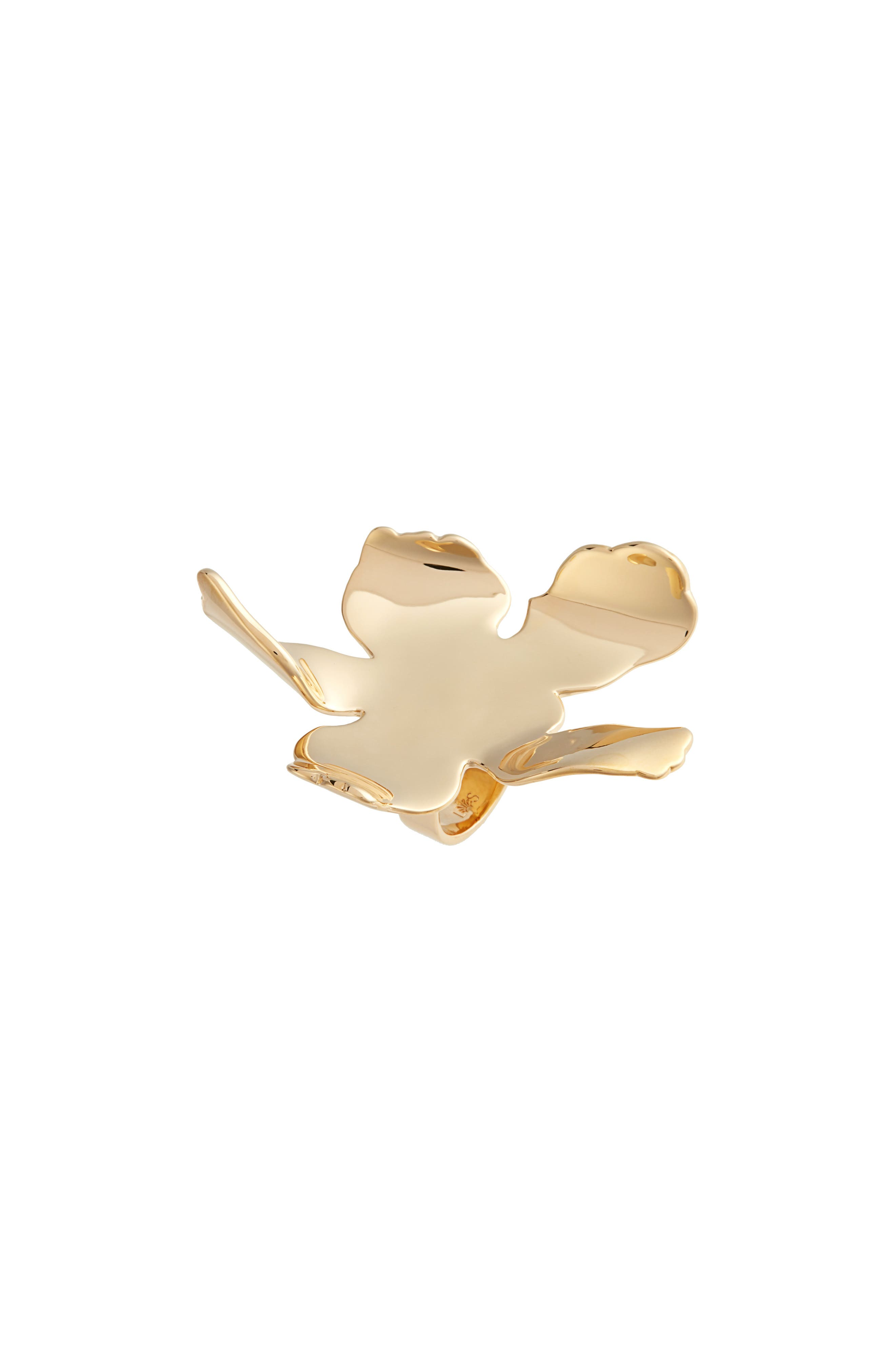 Golden Lily Cocktail Ring,                             Main thumbnail 1, color,                             GOLD
