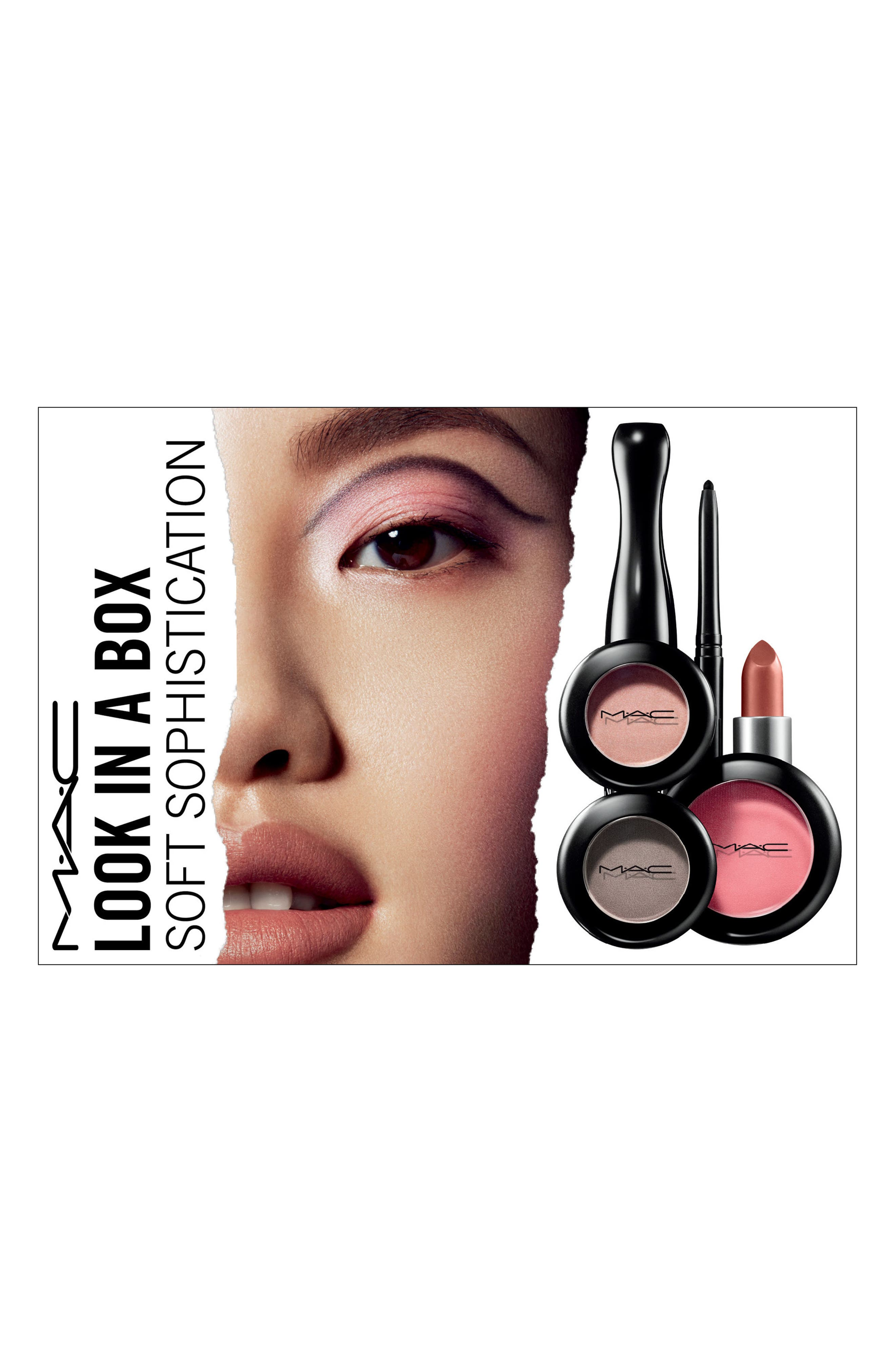 MAC Look in a Box Soft Sophistication Kit,                             Alternate thumbnail 3, color,                             000