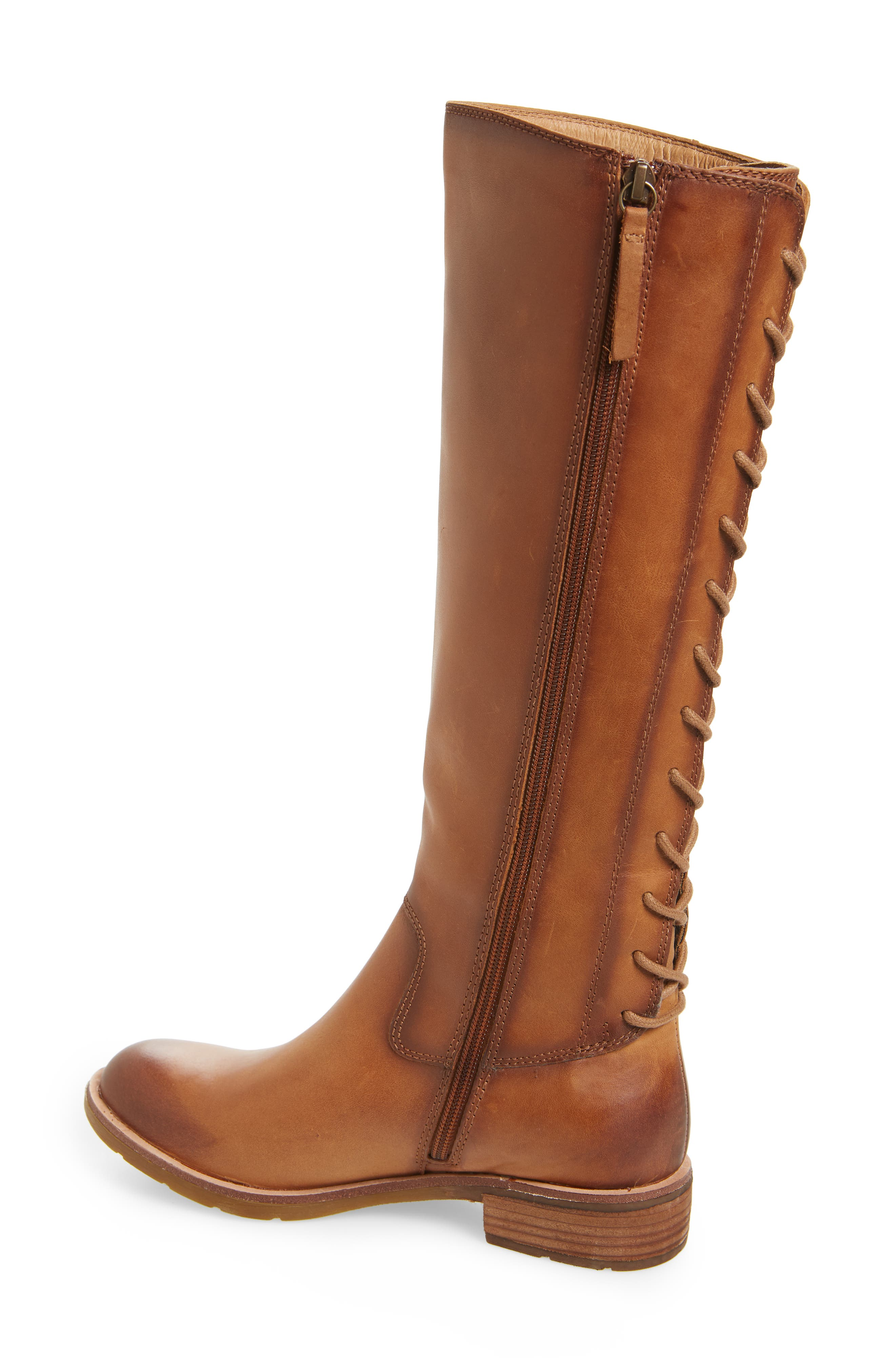Sharnell II Knee High Boot,                             Alternate thumbnail 2, color,                             BISCUIT LEATHER