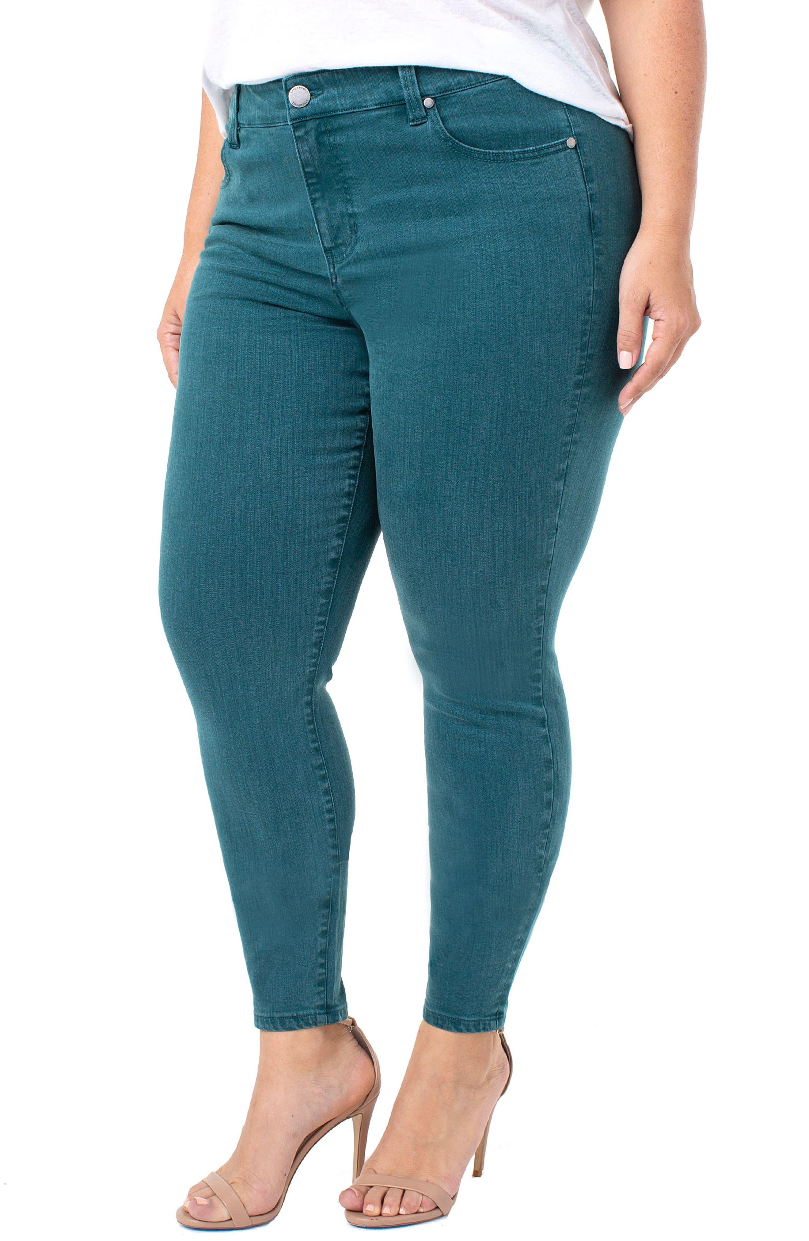 Abby Skinny Jeans,                             Alternate thumbnail 3, color,                             360