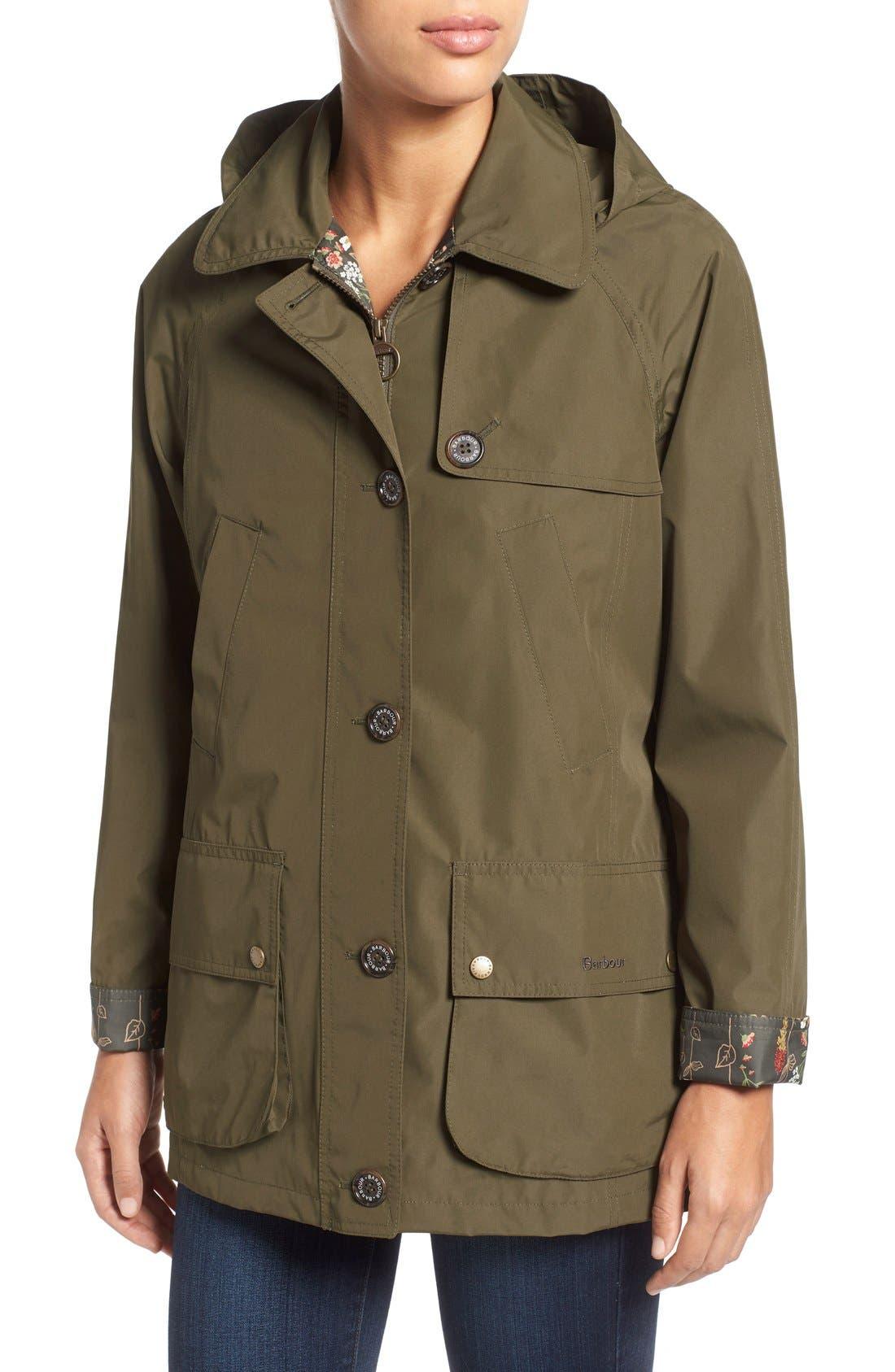 'Wytherstone' Waterproof Rain Jacket,                             Alternate thumbnail 4, color,                             300