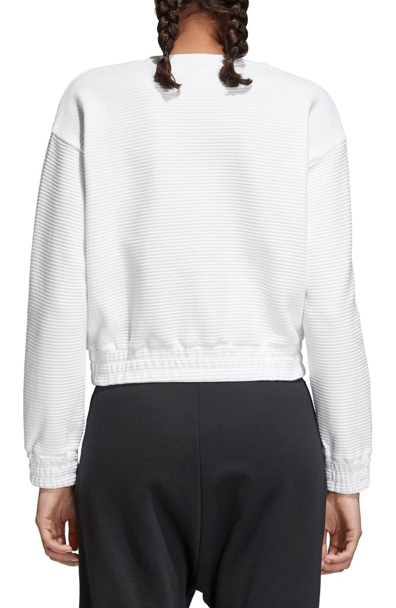 EQT Sweatshirt,                             Alternate thumbnail 2, color,                             100