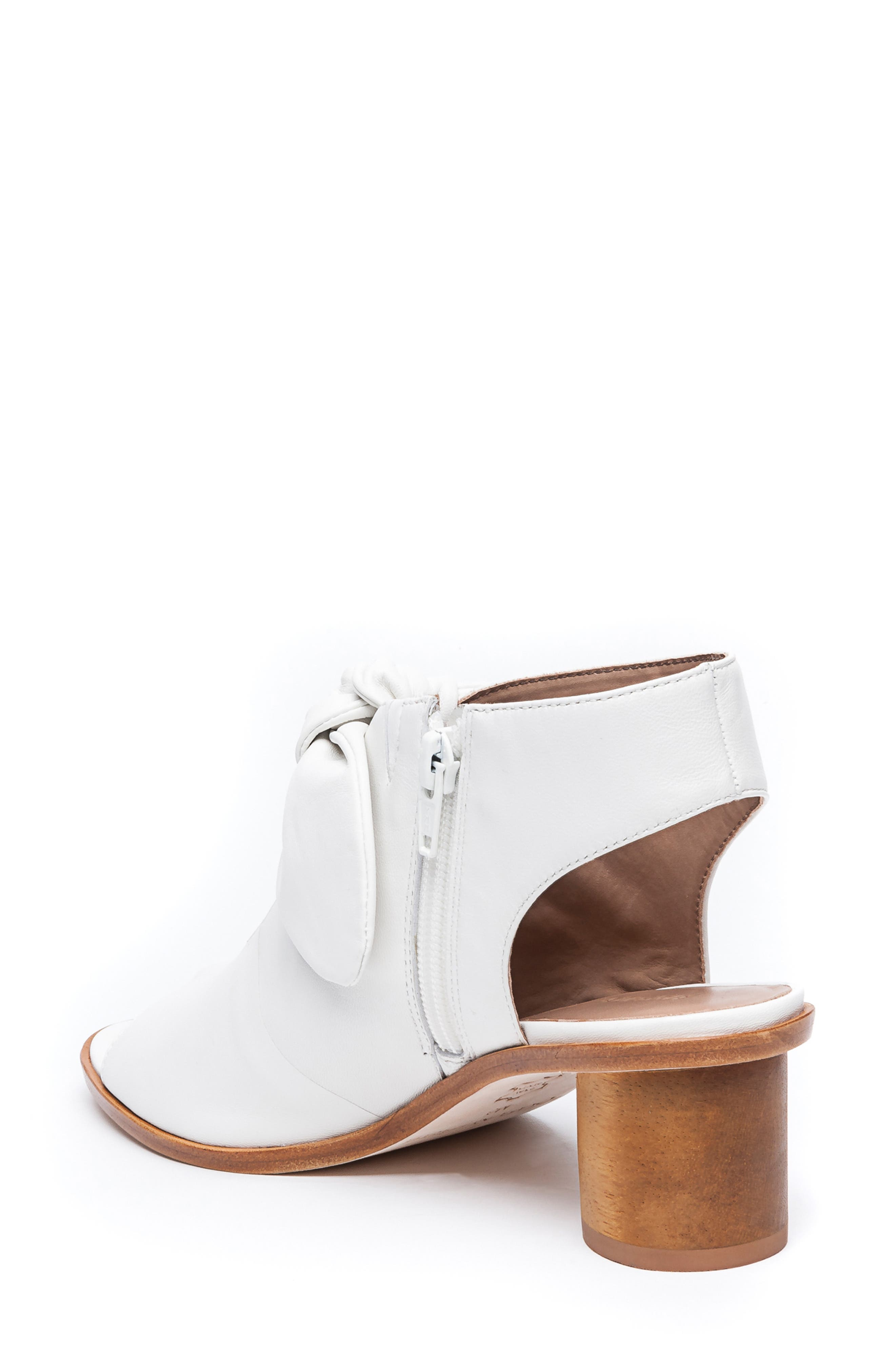 Bernardo Luna Sandal,                             Alternate thumbnail 2, color,                             WHITE LEATHER