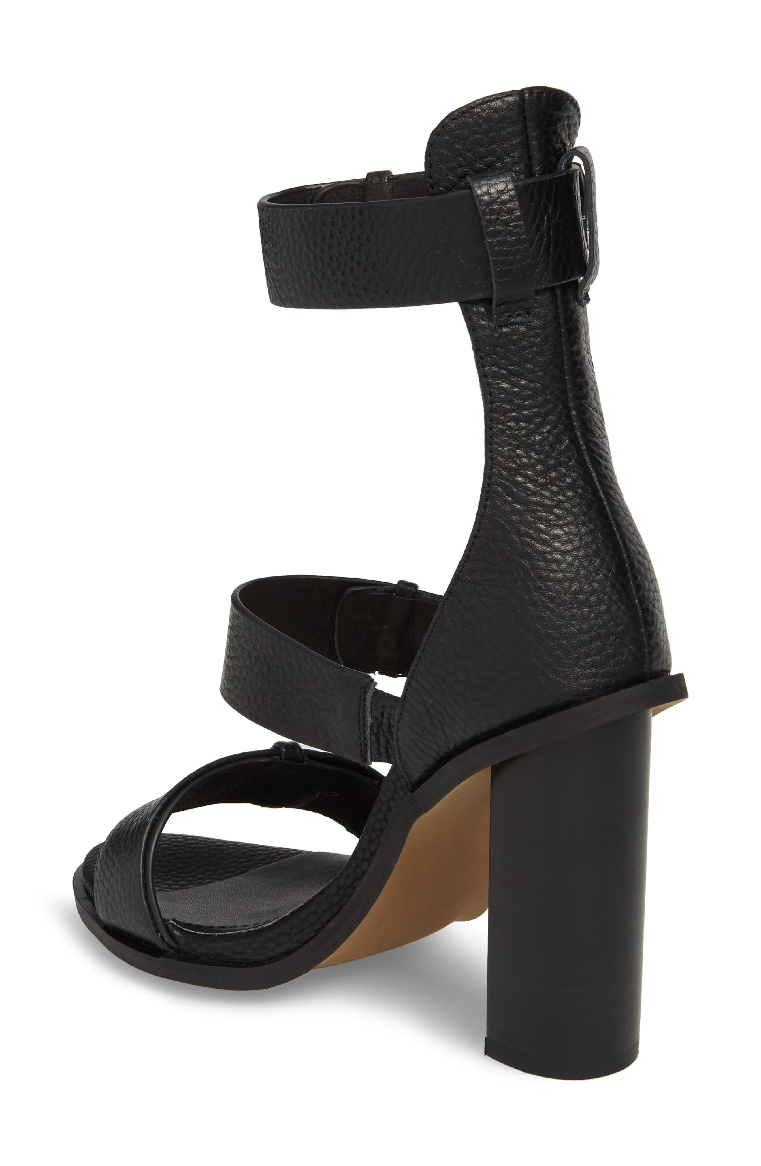 Adore Tall Cuffed Sandal,                             Alternate thumbnail 2, color,                             001