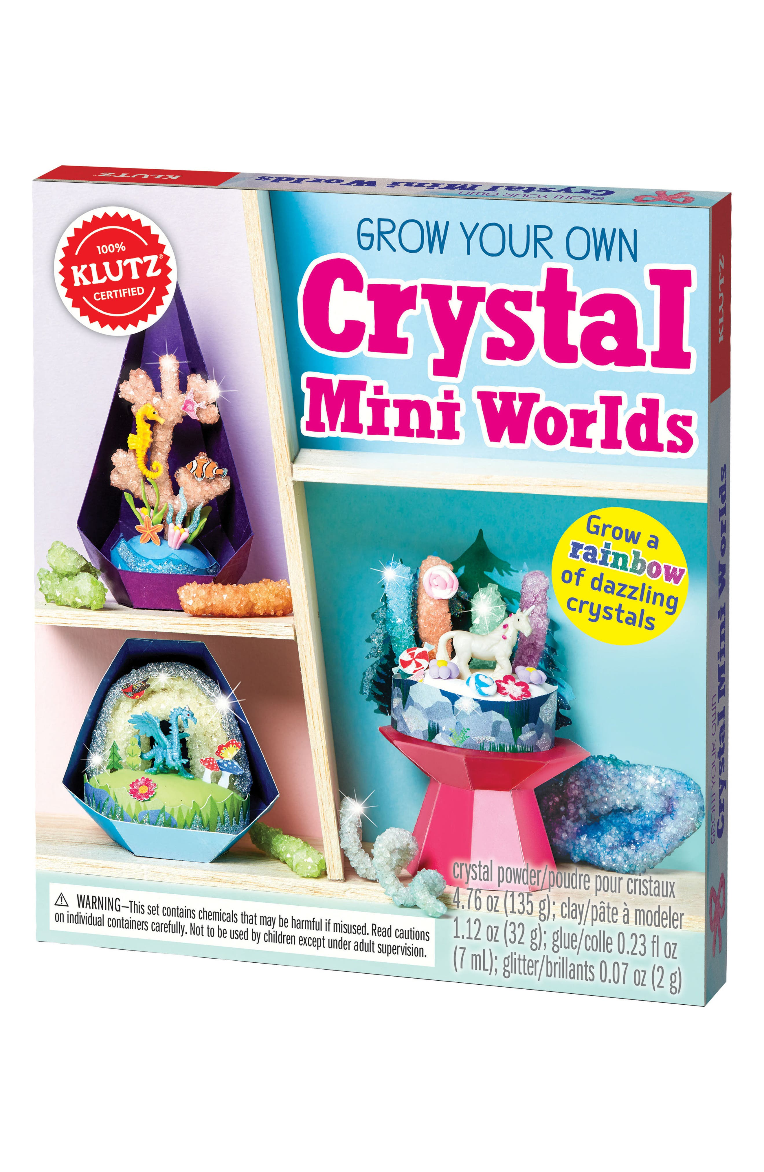 Grow Your Own Crystal Mini Worlds Kit,                             Alternate thumbnail 6, color,                             500