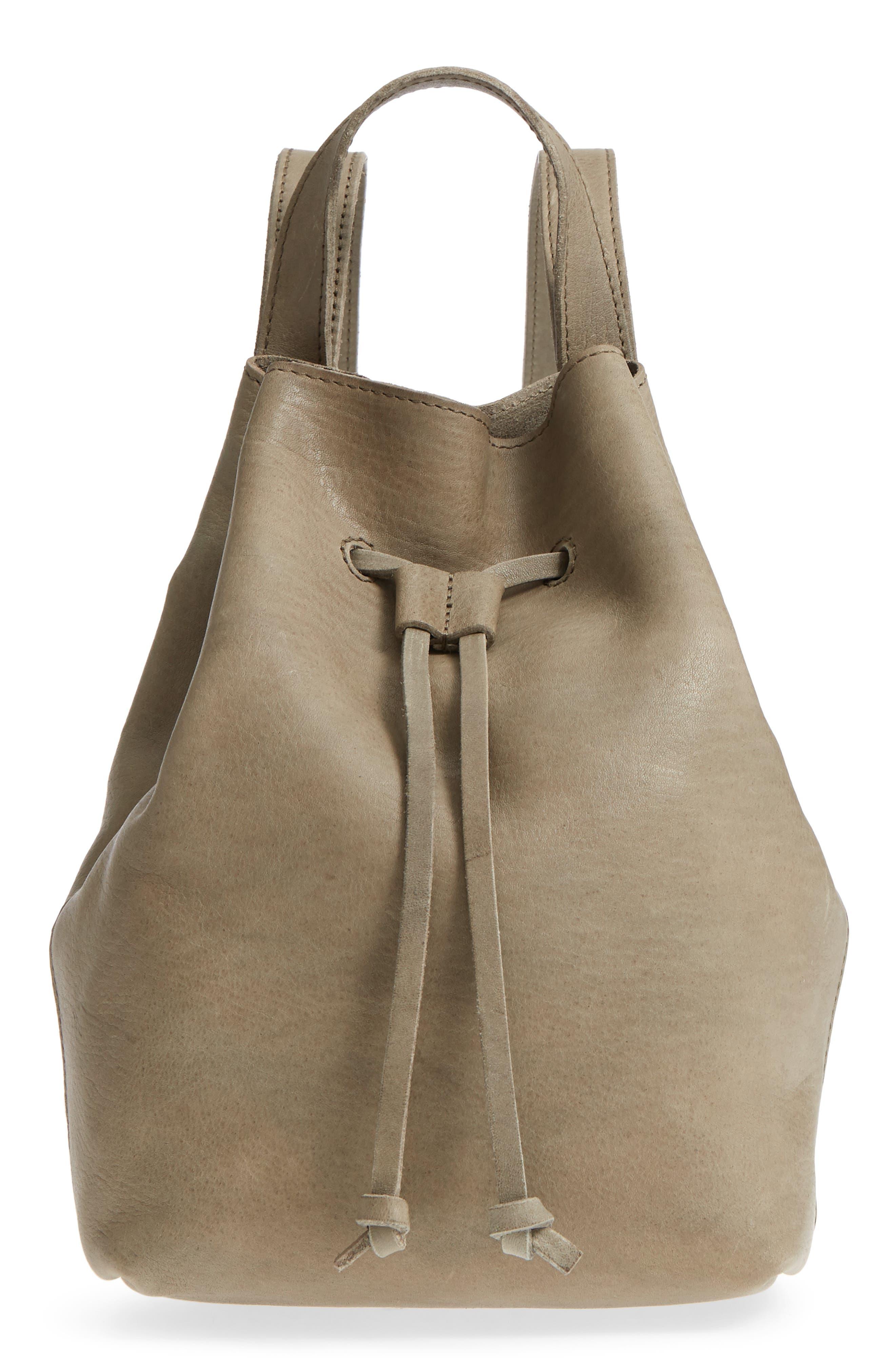 Mini Somerset Leather Backpack,                             Main thumbnail 1, color,                             FORGOTTEN LANDSCAPE