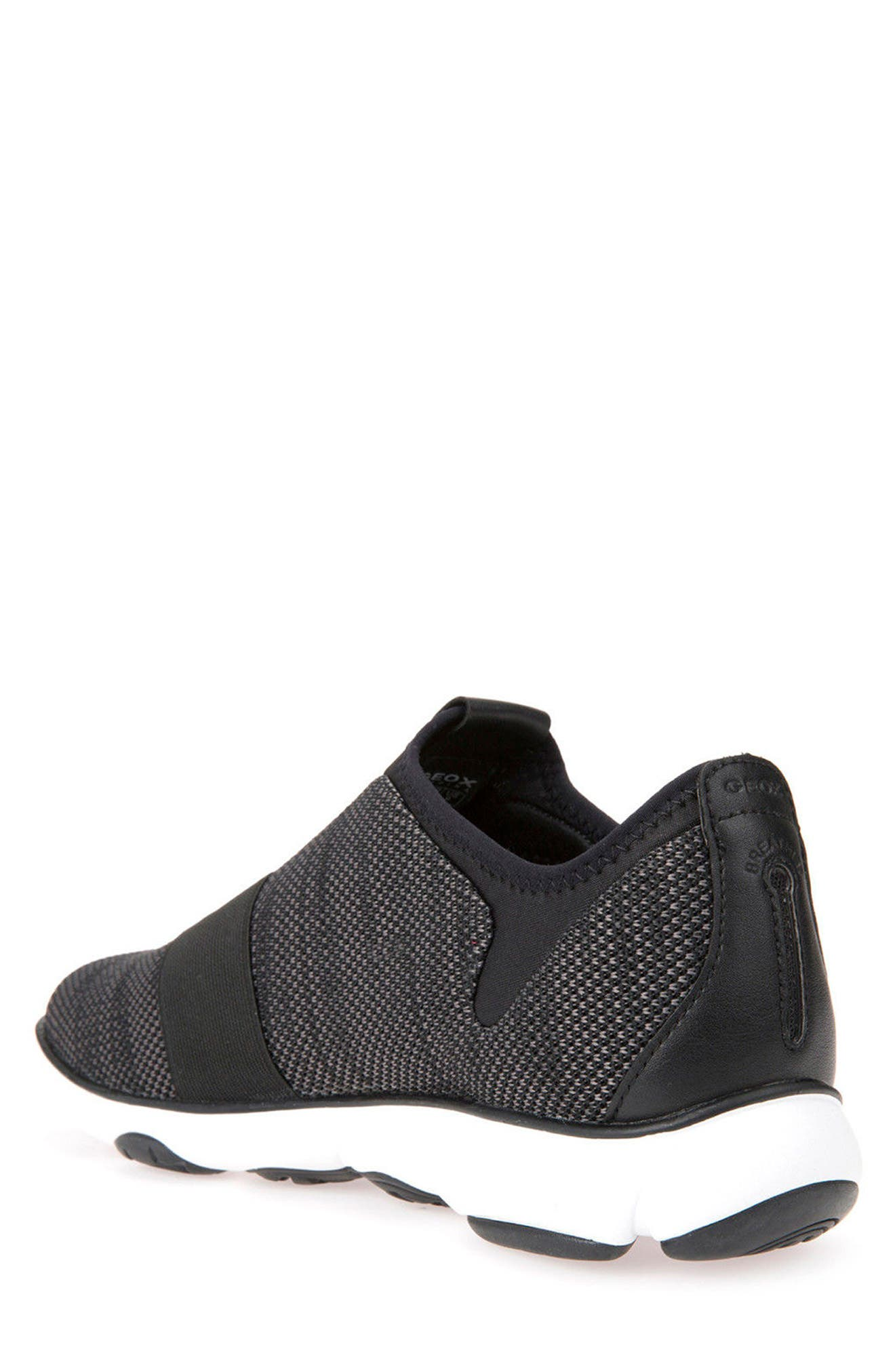 Nebula 45 Banded Slip-On Sneaker,                             Alternate thumbnail 2, color,                             BLACK