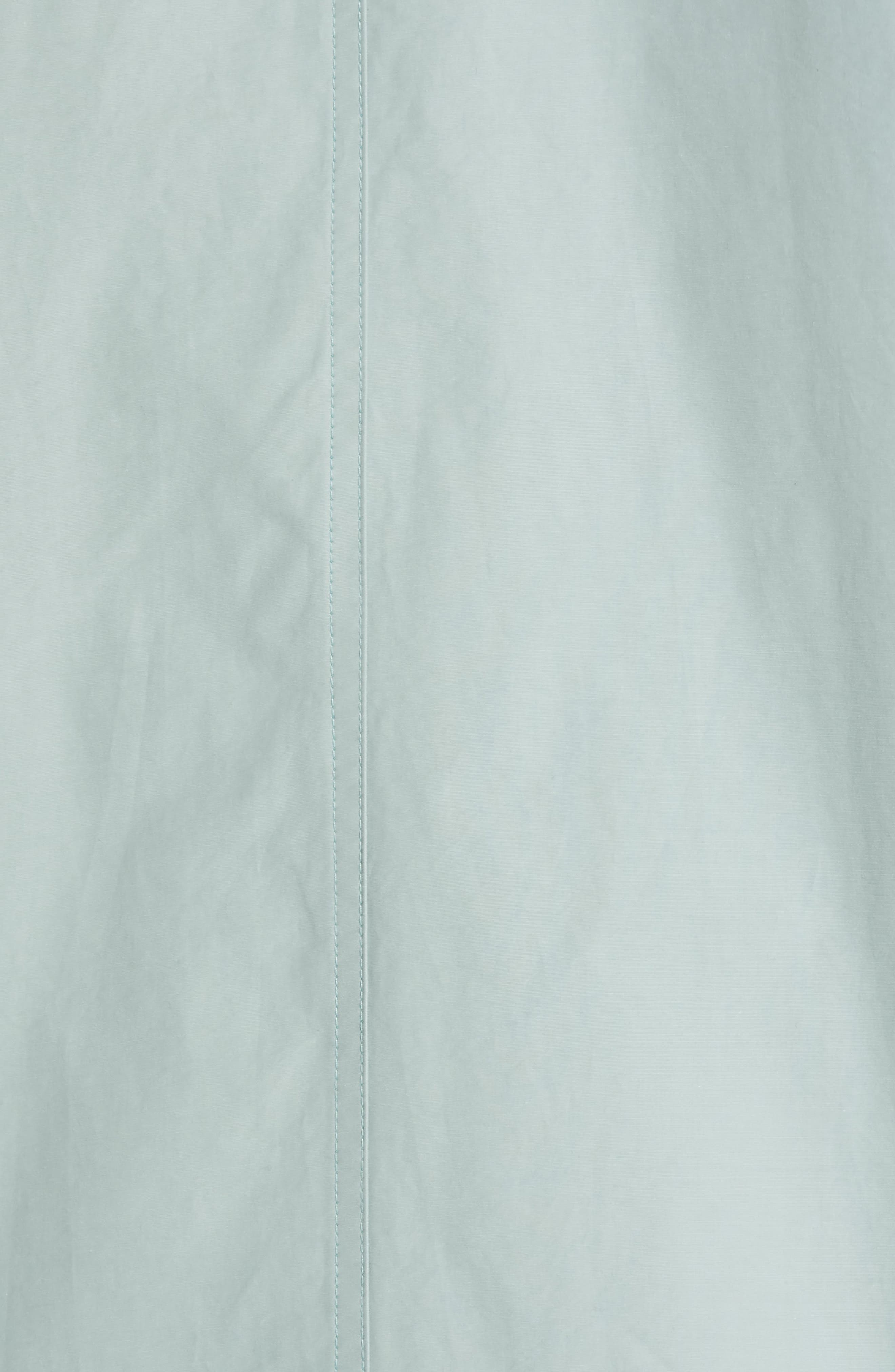EILEEN FISHER,                             A-Line Jacket,                             Alternate thumbnail 7, color,                             BLUE IVY
