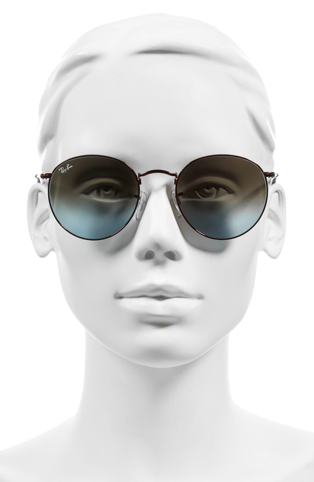 Icons 50mm Retro Sunglasses,                             Alternate thumbnail 5, color,