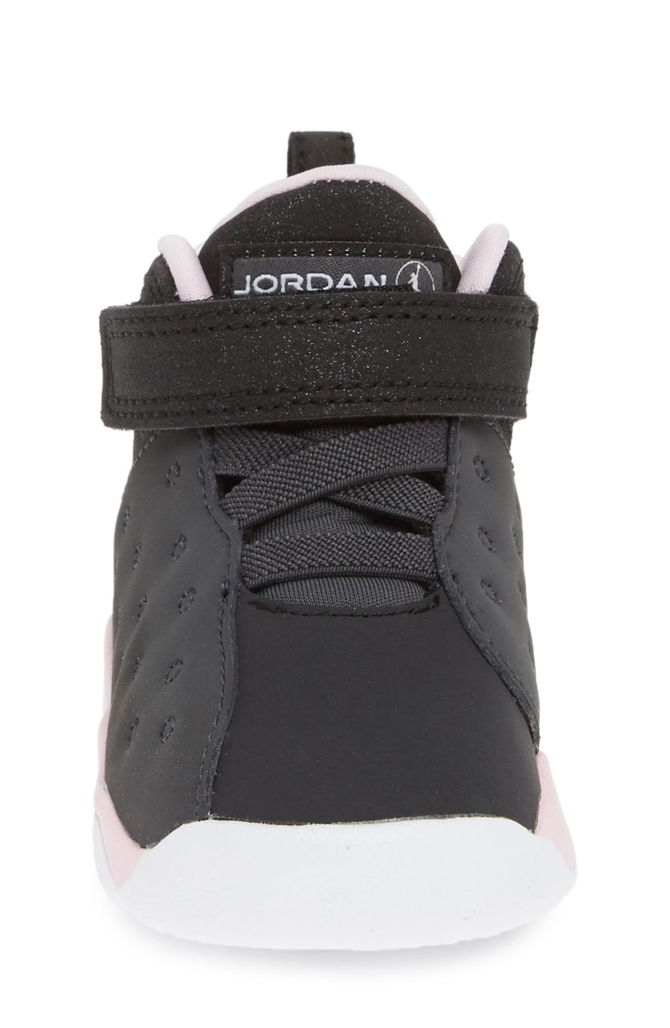 Jumpman Team II Sneaker,                             Alternate thumbnail 4, color,                             ANTHRACITE/ BLACK-PINK -WHITE