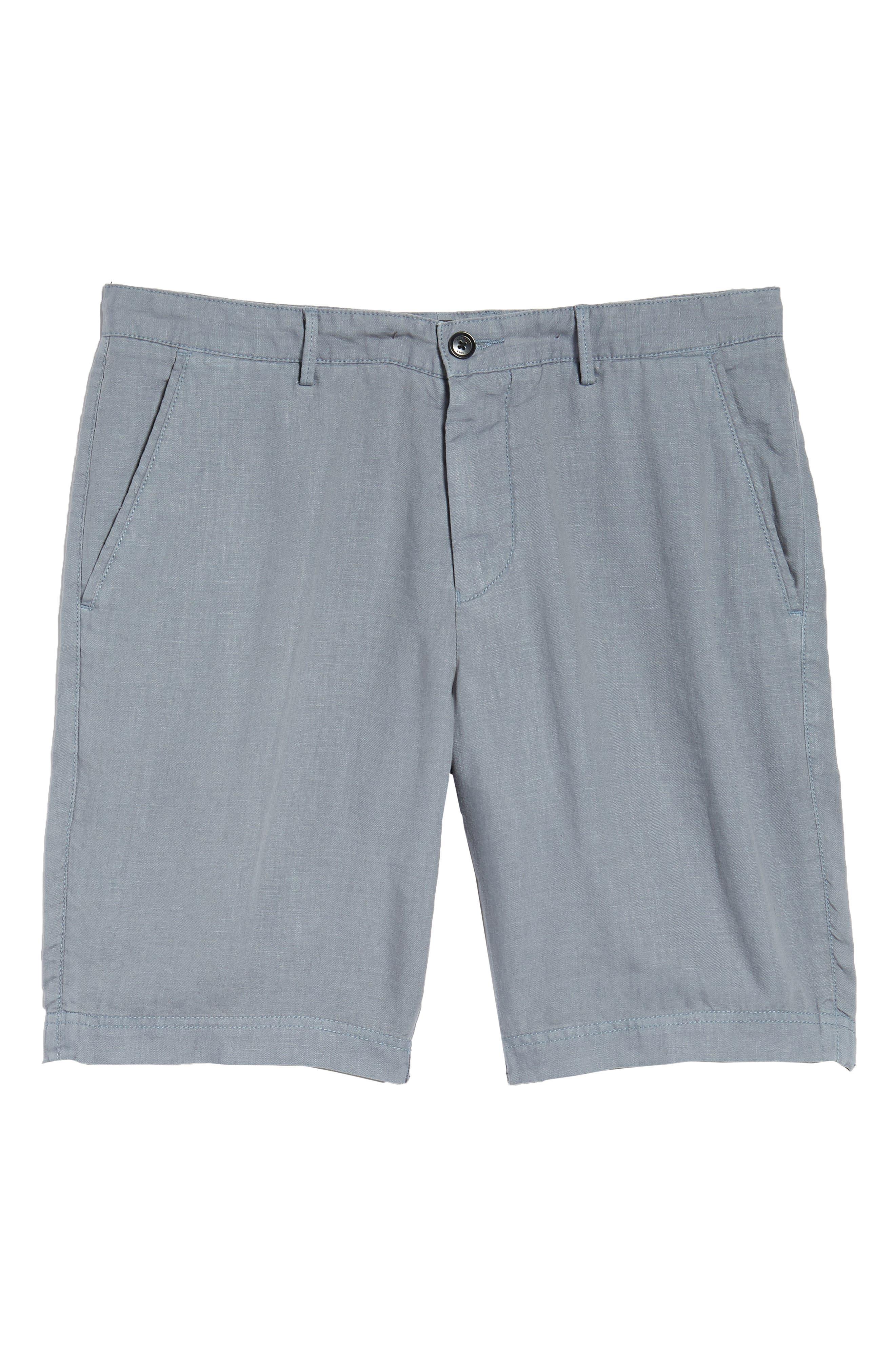 Crigan Linen Shorts,                             Alternate thumbnail 26, color,