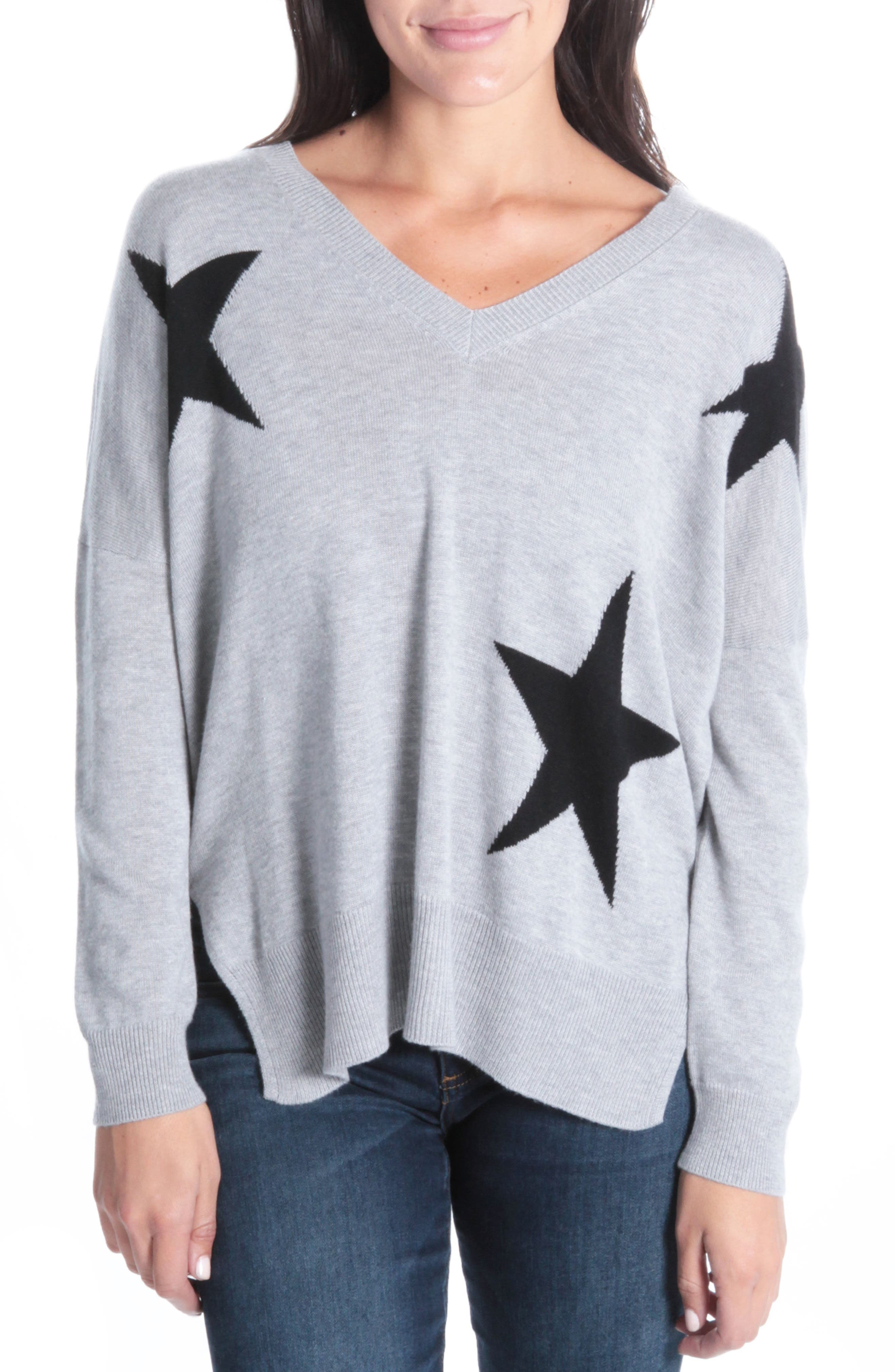 Polly Star Sweater,                             Main thumbnail 1, color,                             024