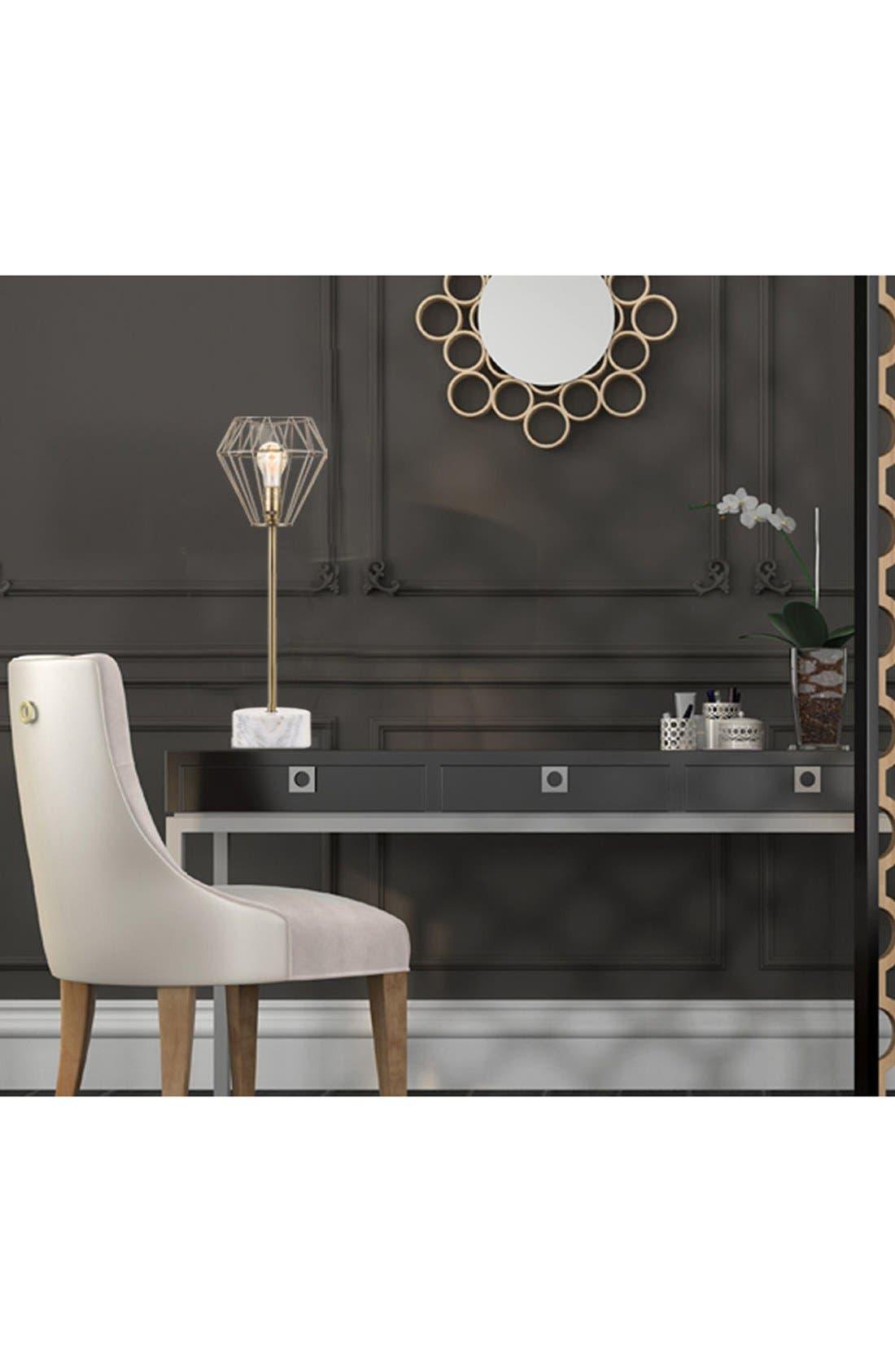 JAlexander Brass & Marble Table Lamp,                             Alternate thumbnail 2, color,                             710