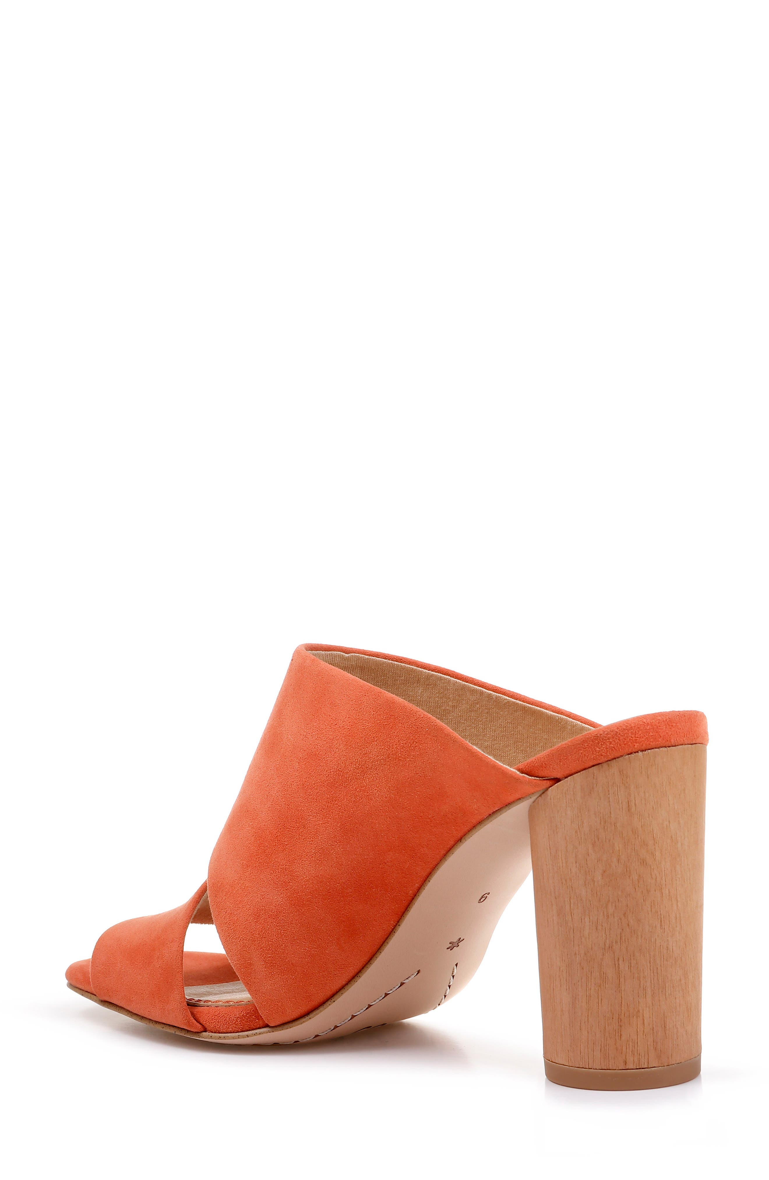Serenade Sandal,                             Alternate thumbnail 2, color,                             ORANGE SUEDE