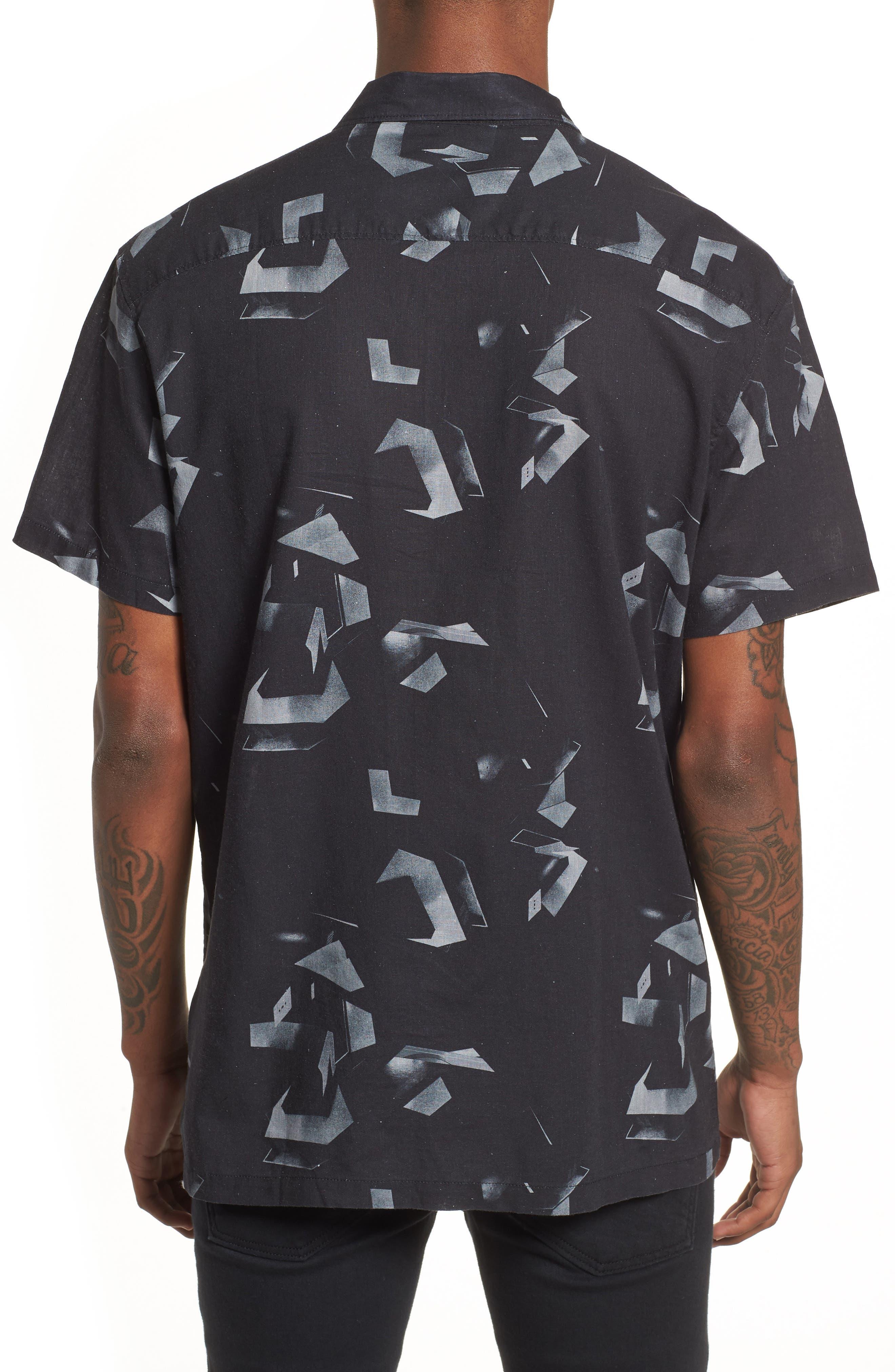 Shoto Short Sleeve Shirt,                             Alternate thumbnail 2, color,                             001