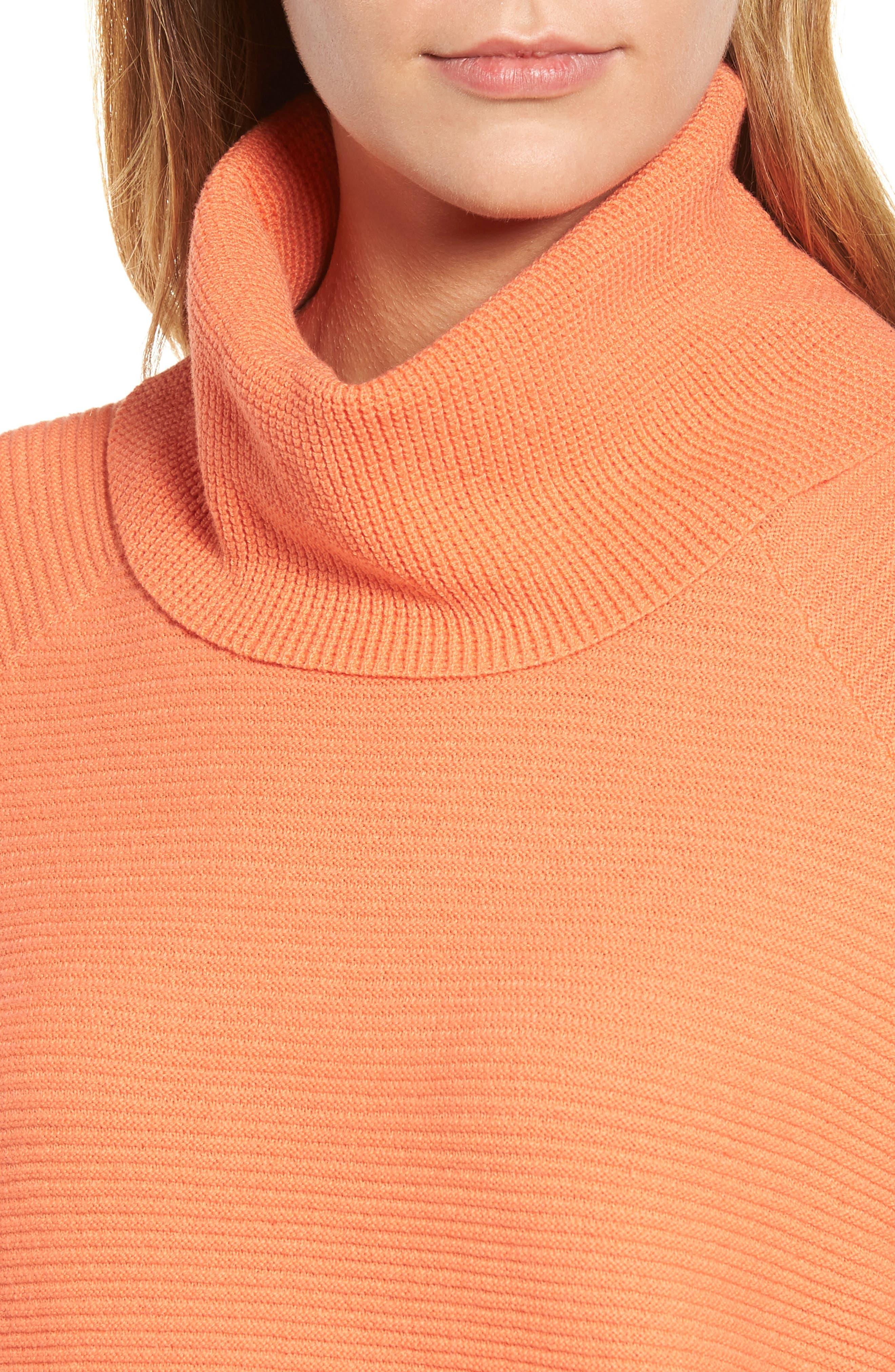 Cowl Neck Shirttail Hem Sweater,                             Alternate thumbnail 12, color,