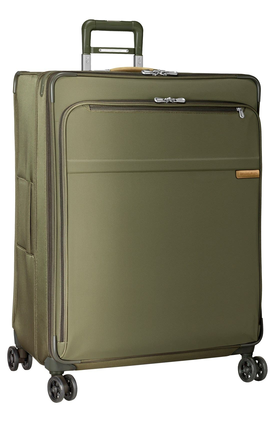 'Baseline' Extra Large 31-Inch Expandable Spinner,                         Main,                         color, OLIVE