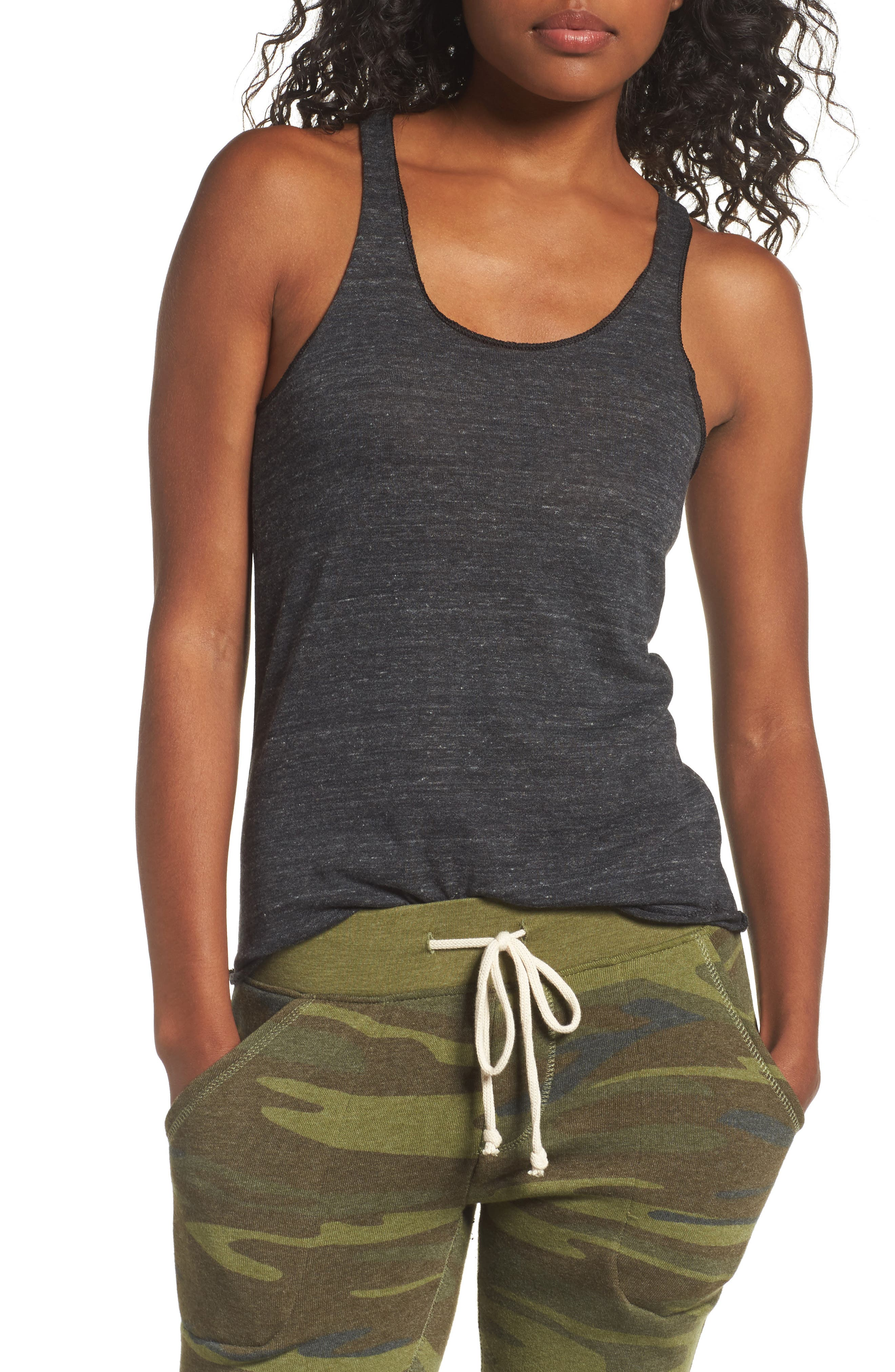 Meegs Racerback Tank,                             Main thumbnail 1, color,                             009