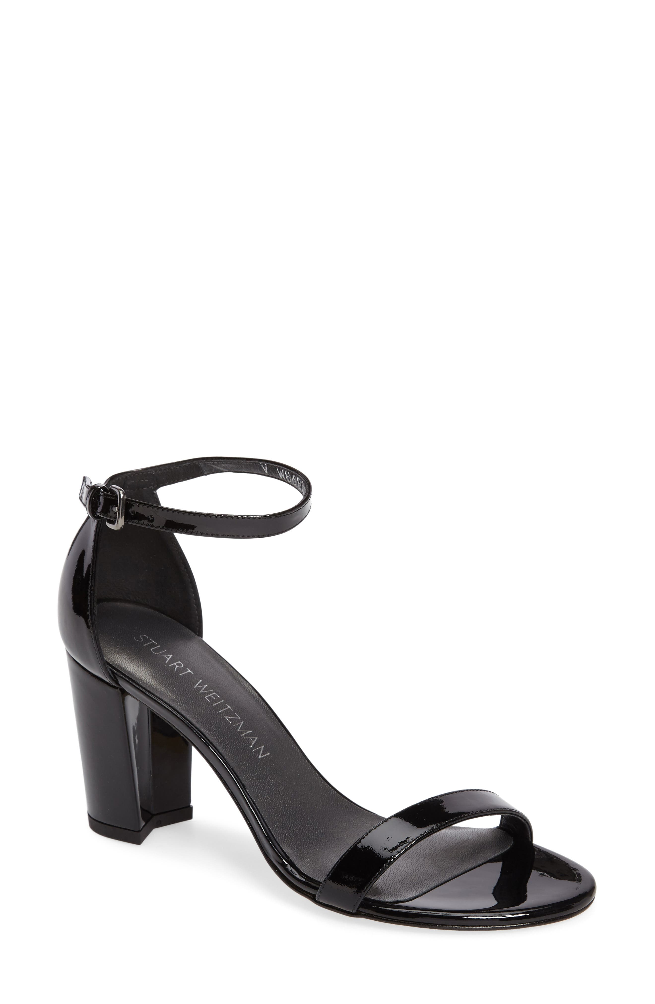NearlyNude Ankle Strap Sandal,                             Main thumbnail 11, color,