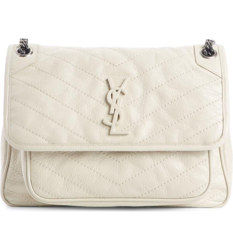 Saint Laurent Medium Niki Leather Shoulder Bag  c1c958a9b0d86