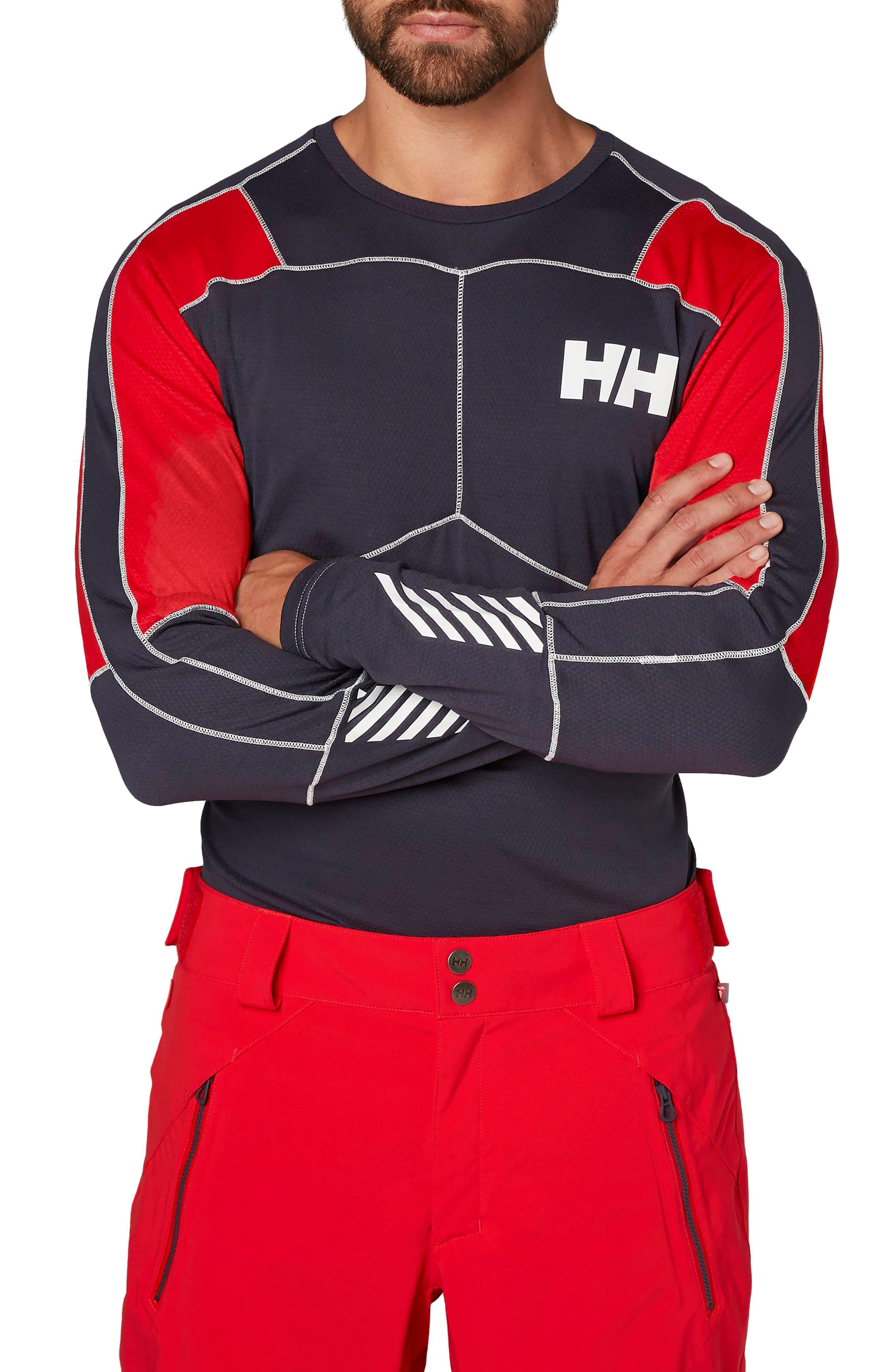 Lifa<sup>®</sup> Mid Long Sleeve Base Layer Shirt,                             Main thumbnail 2, color,