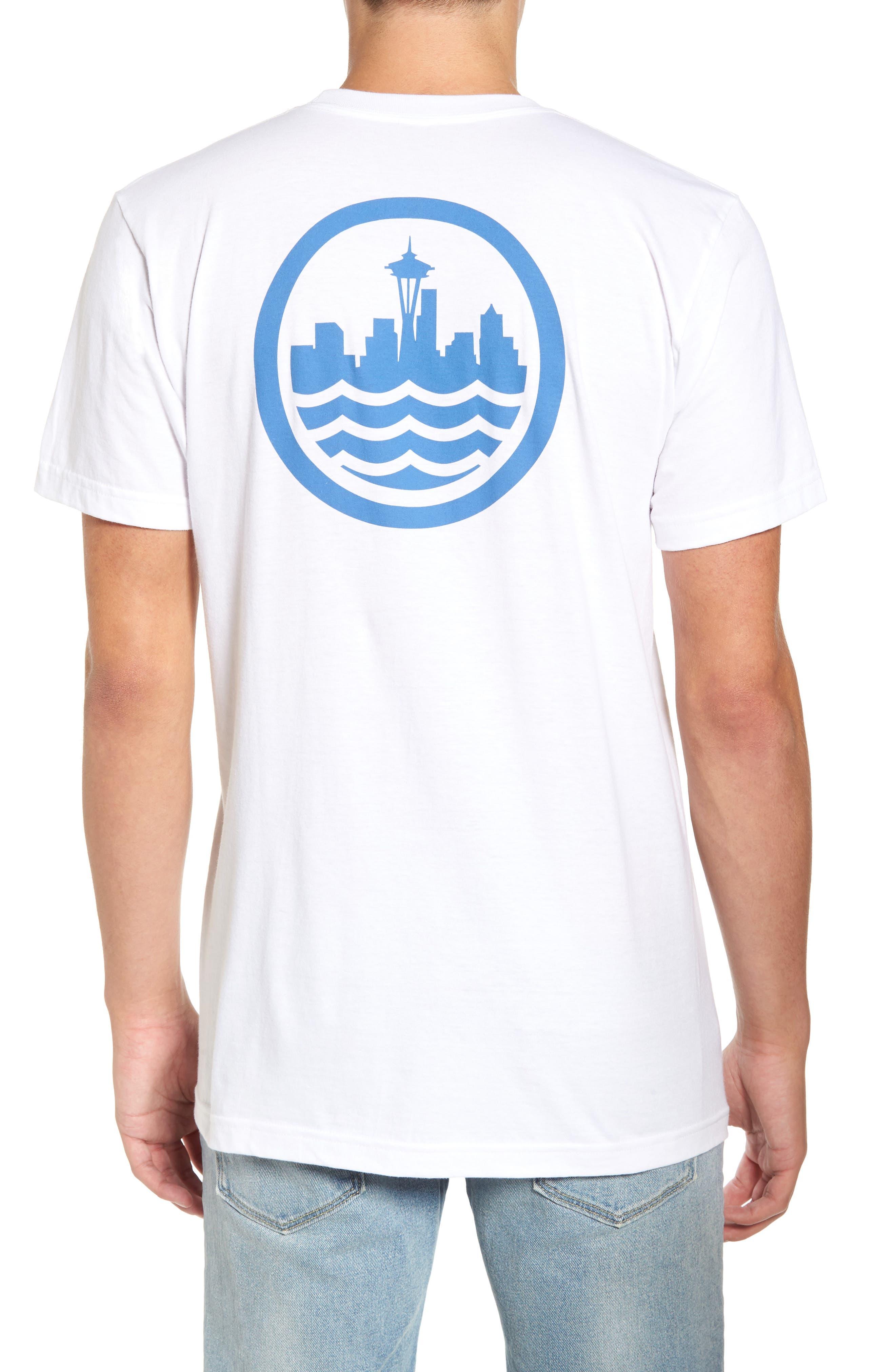 Sea Graphic T-Shirt,                             Alternate thumbnail 3, color,