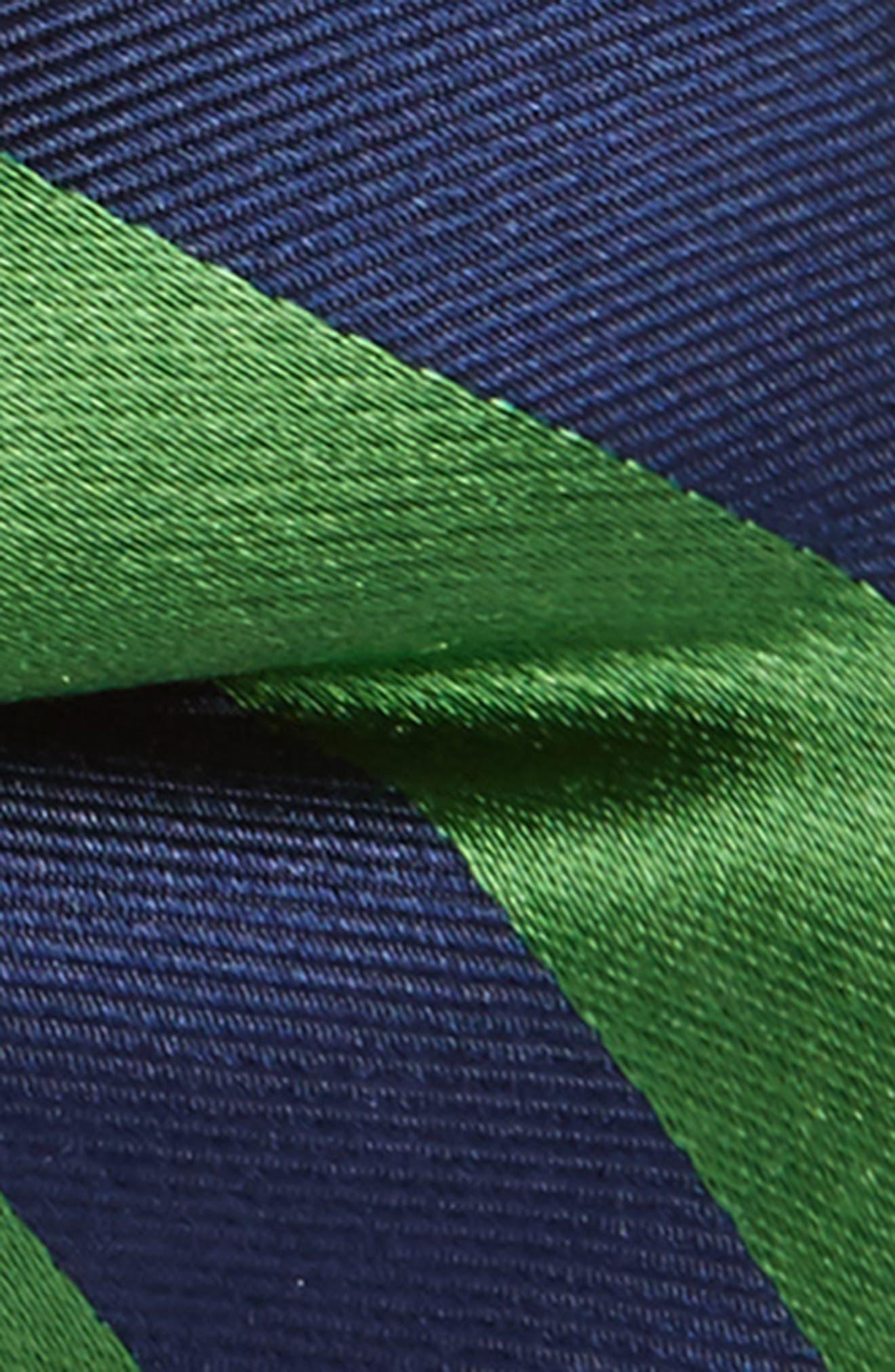 Stripe Silk Bow Tie,                             Alternate thumbnail 2, color,                             300