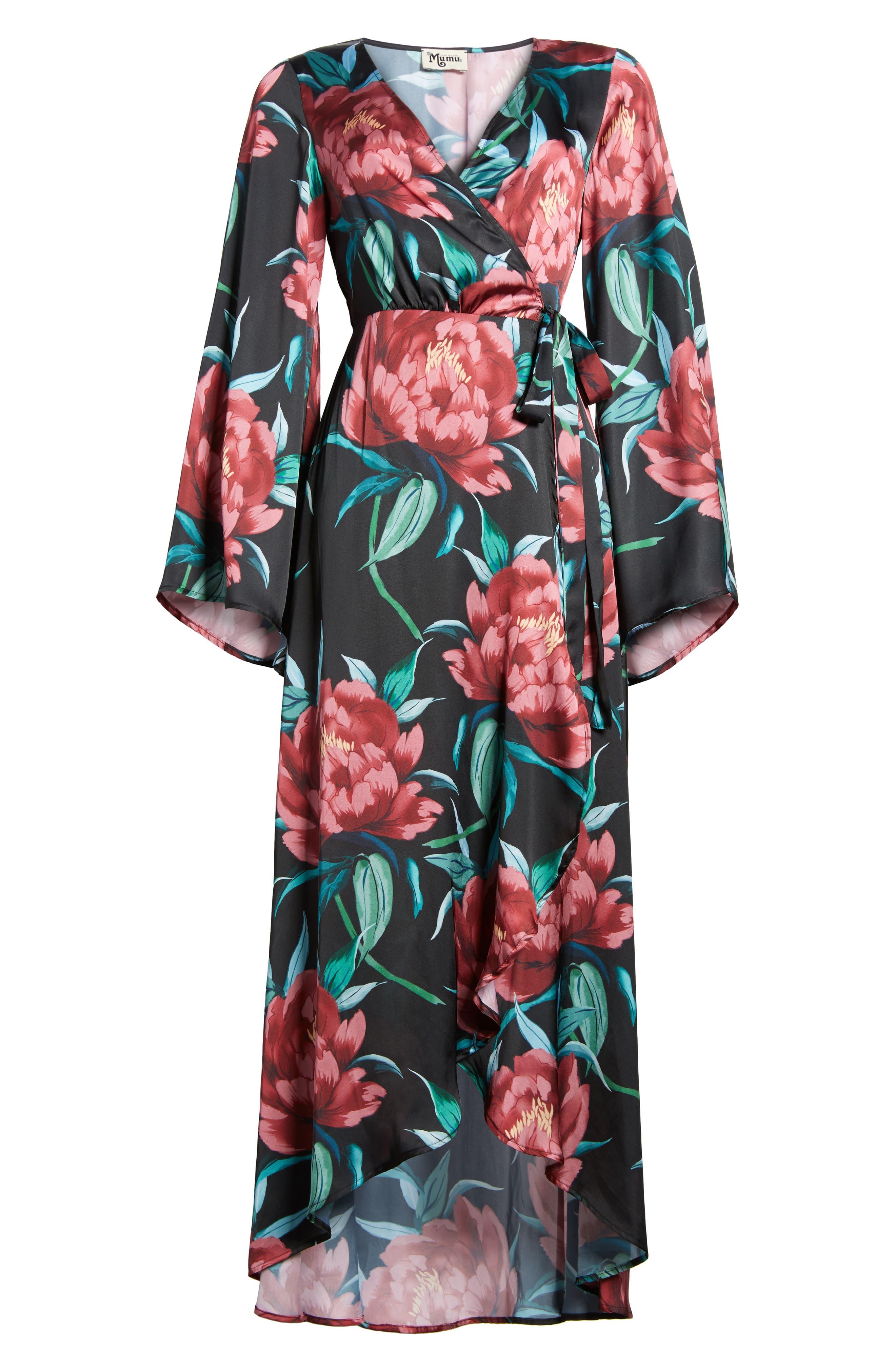 Anita Wrap Maxi Dress,                             Alternate thumbnail 12, color,