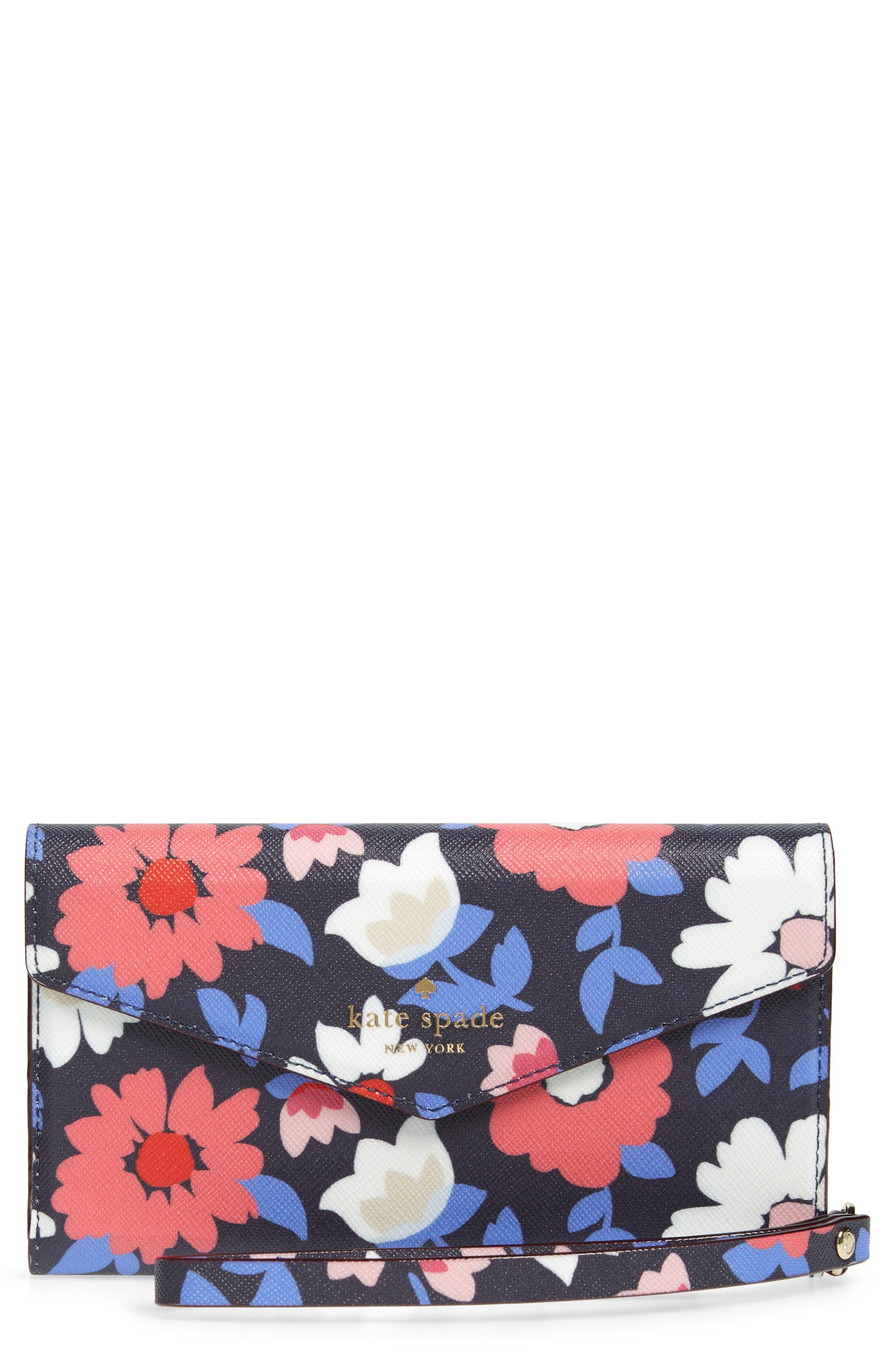 daisy iPhone X & Xs wristlet,                             Main thumbnail 1, color,                             460