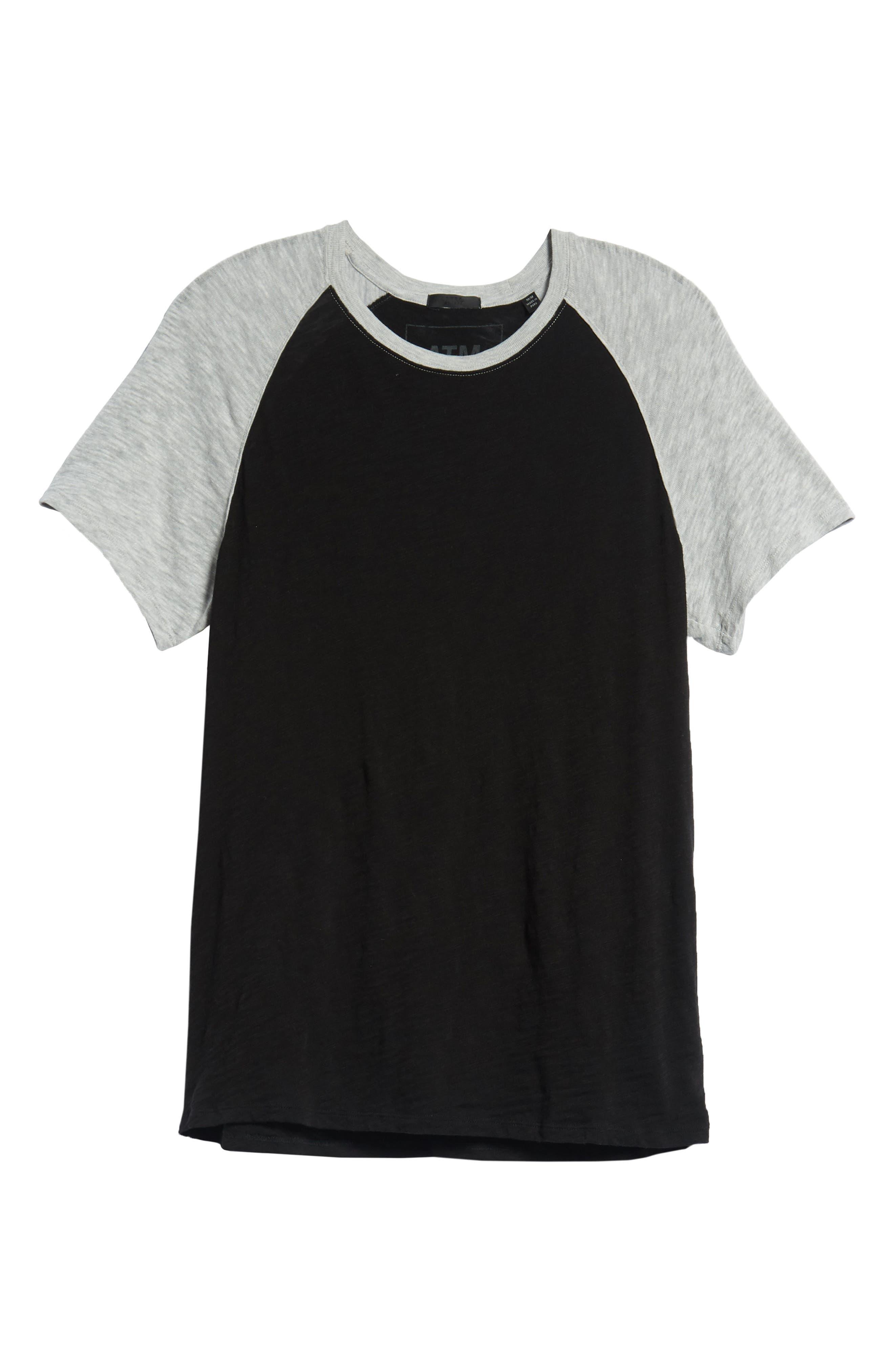 Slub Jersey Baseball T-Shirt,                             Alternate thumbnail 6, color,