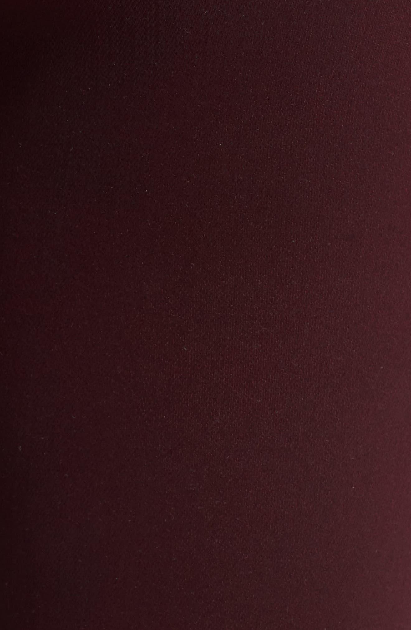 High Waist Coated Skinny Jeans,                             Alternate thumbnail 6, color,                             PORT WAX