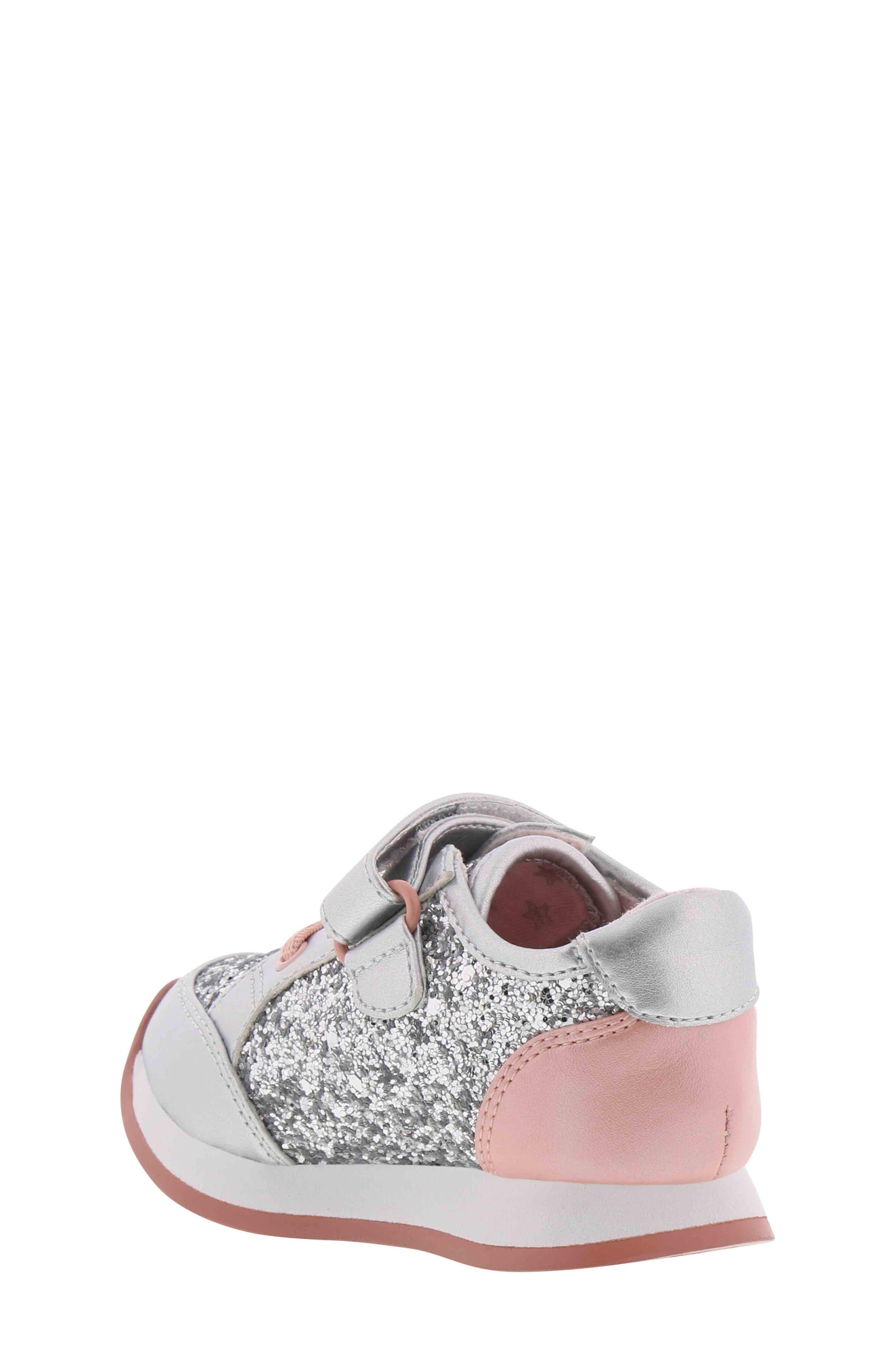 BØRN,                             Adyson Margyne Sparkle Sneaker,                             Alternate thumbnail 2, color,                             SILVER PINK