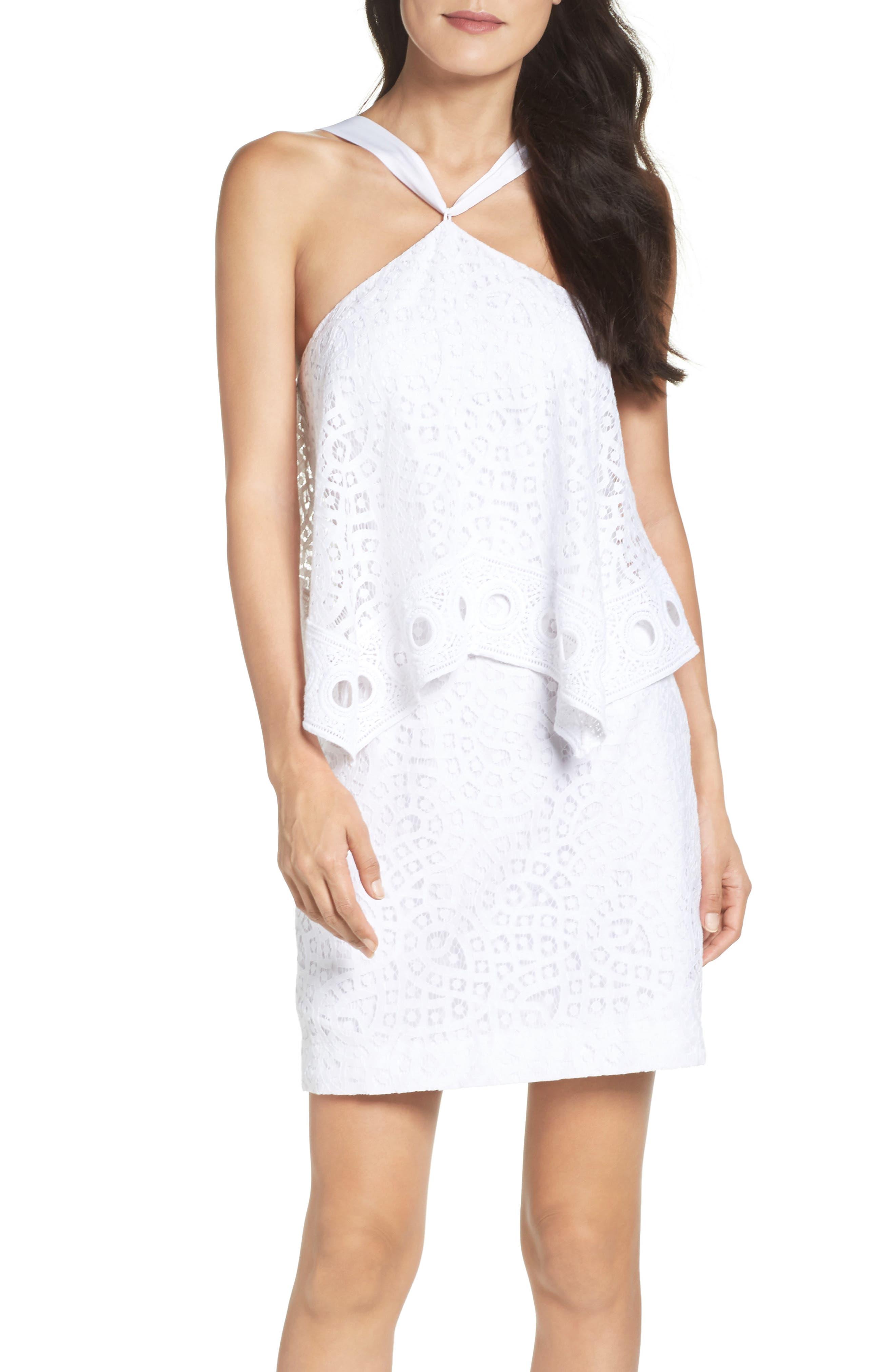 Pearson Popover Dress,                             Alternate thumbnail 5, color,                             115