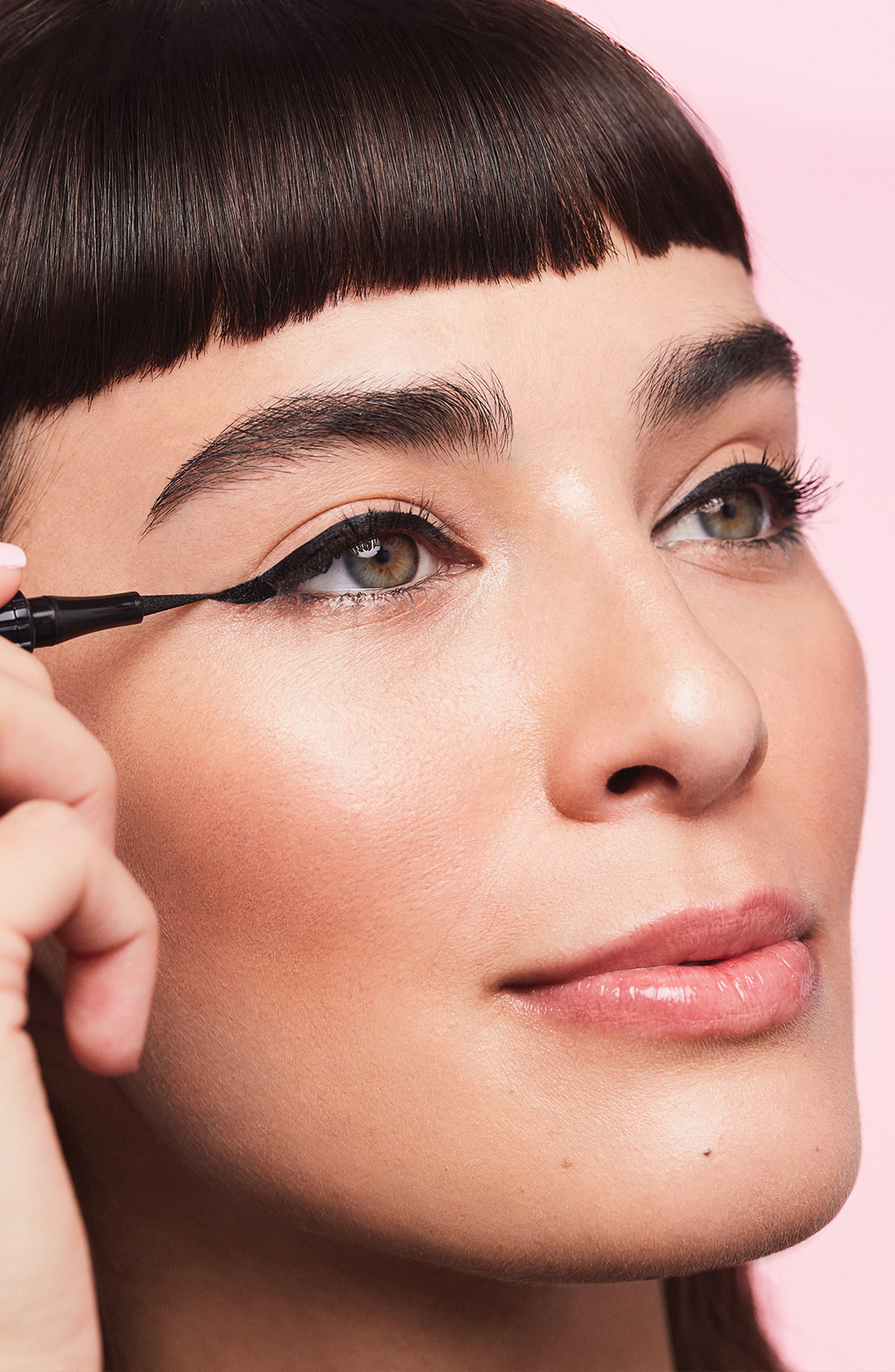 Benefit Roller Liner Matte Liquid Eyeliner,                             Alternate thumbnail 5, color,                             BLACK