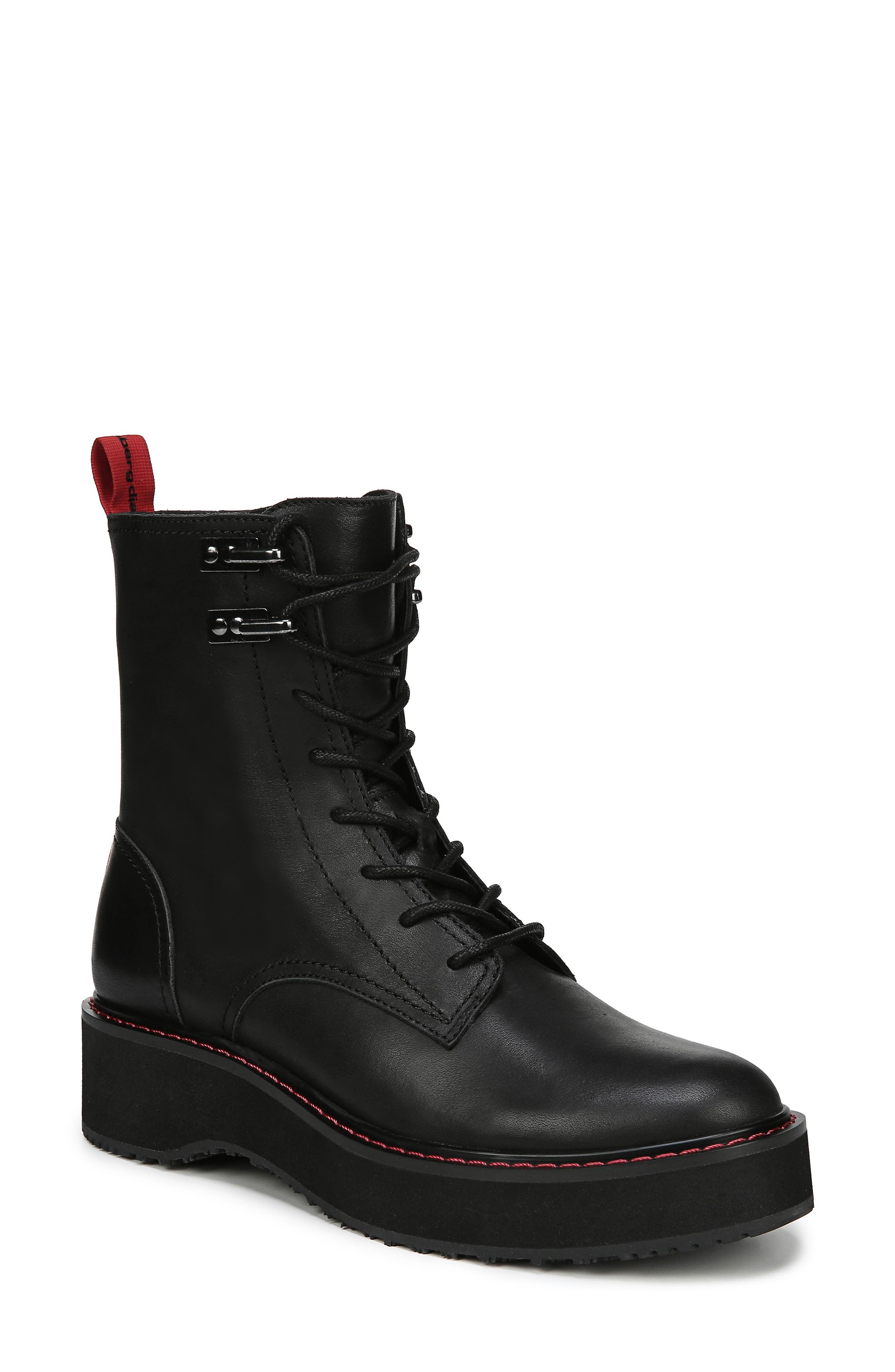 In Charge Boot,                             Main thumbnail 1, color,                             BLACK