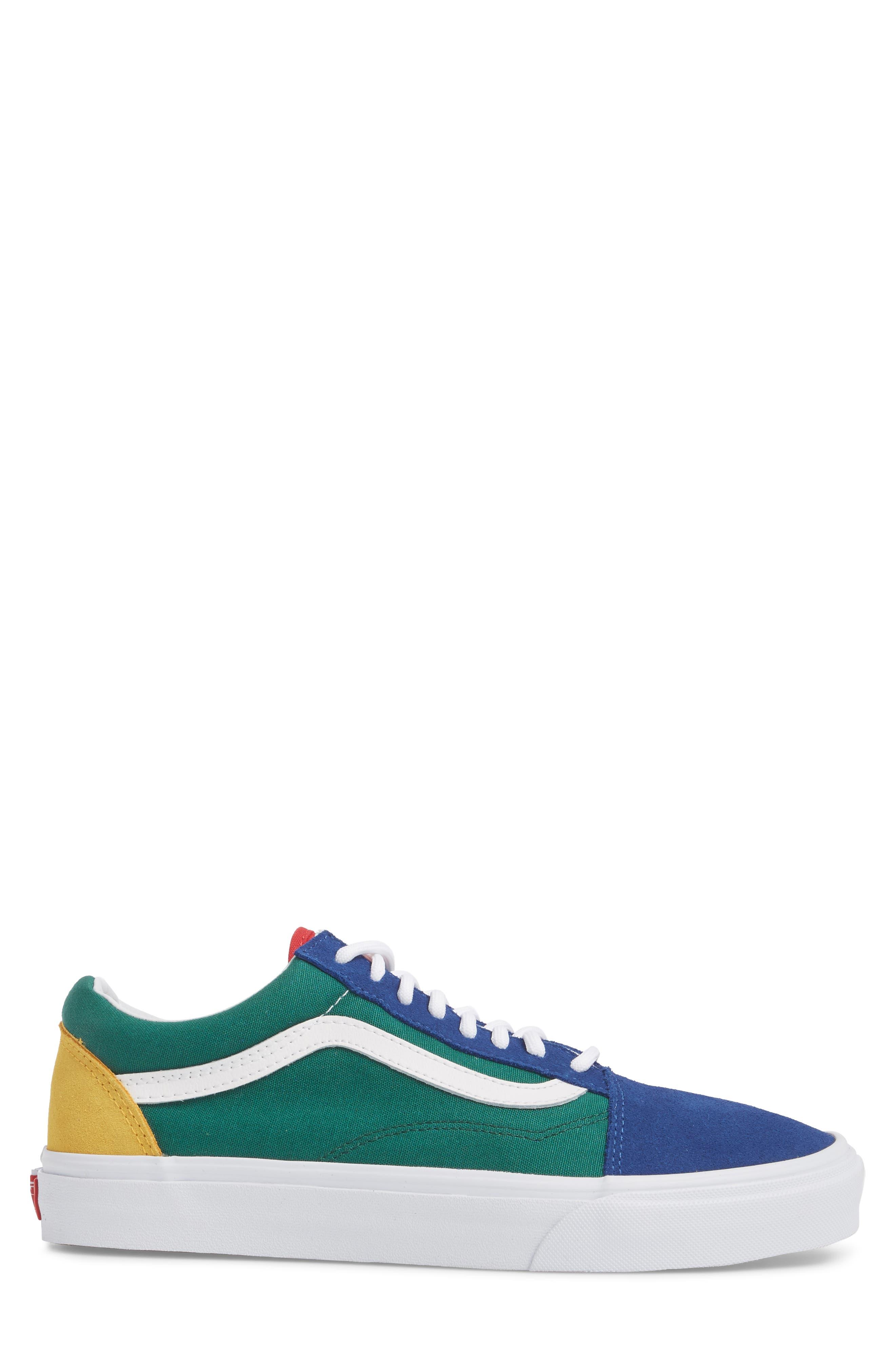 Yacht Club Old Skool Sneaker,                             Alternate thumbnail 3, color,                             300
