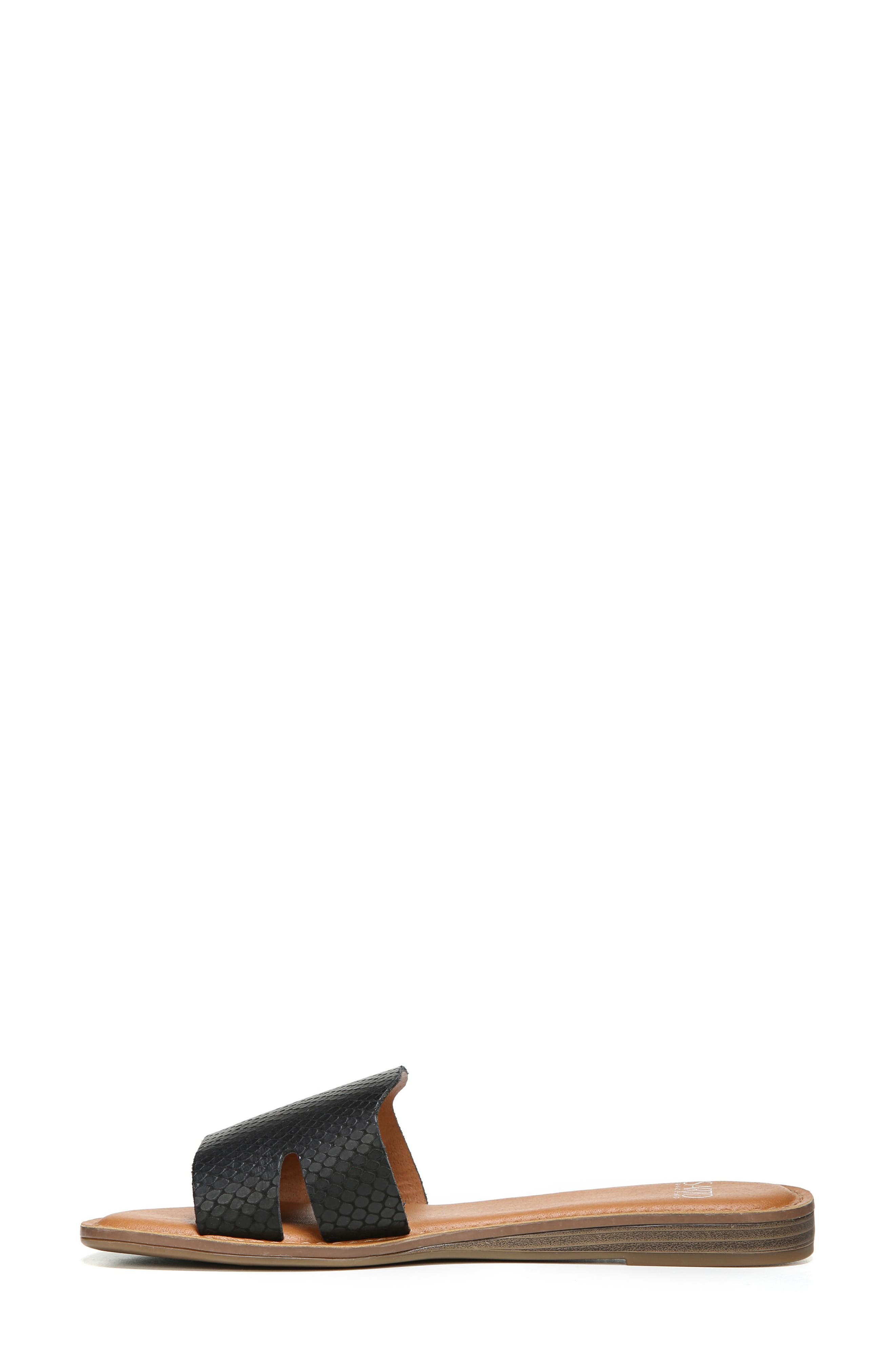Ginelle Slide Sandal,                             Alternate thumbnail 3, color,                             001