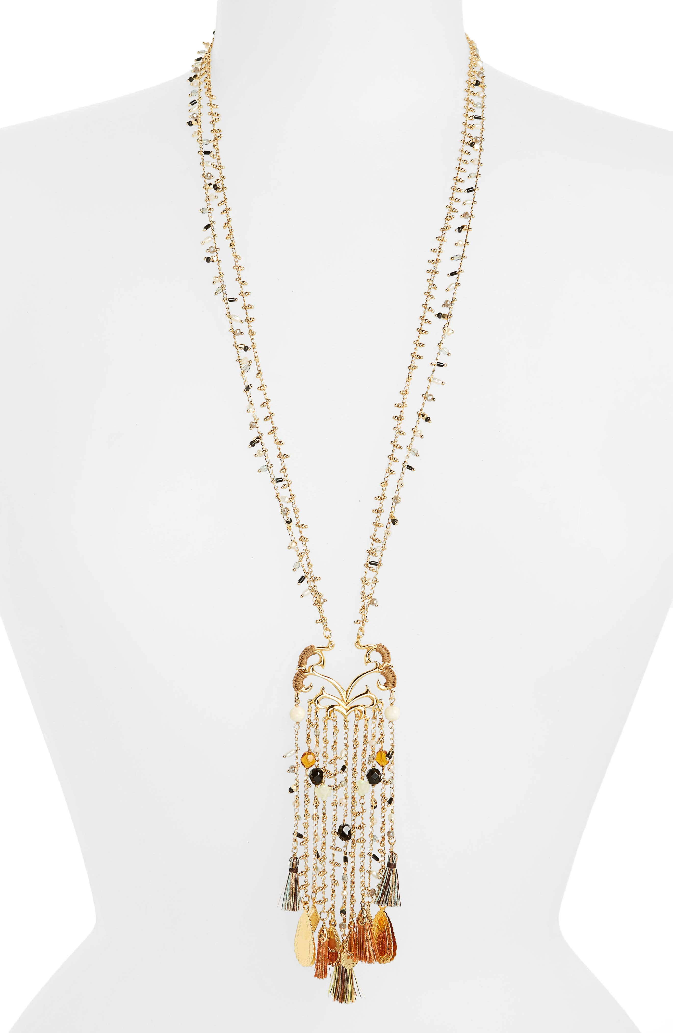 Volupte Crystal Necklace,                             Main thumbnail 1, color,                             710