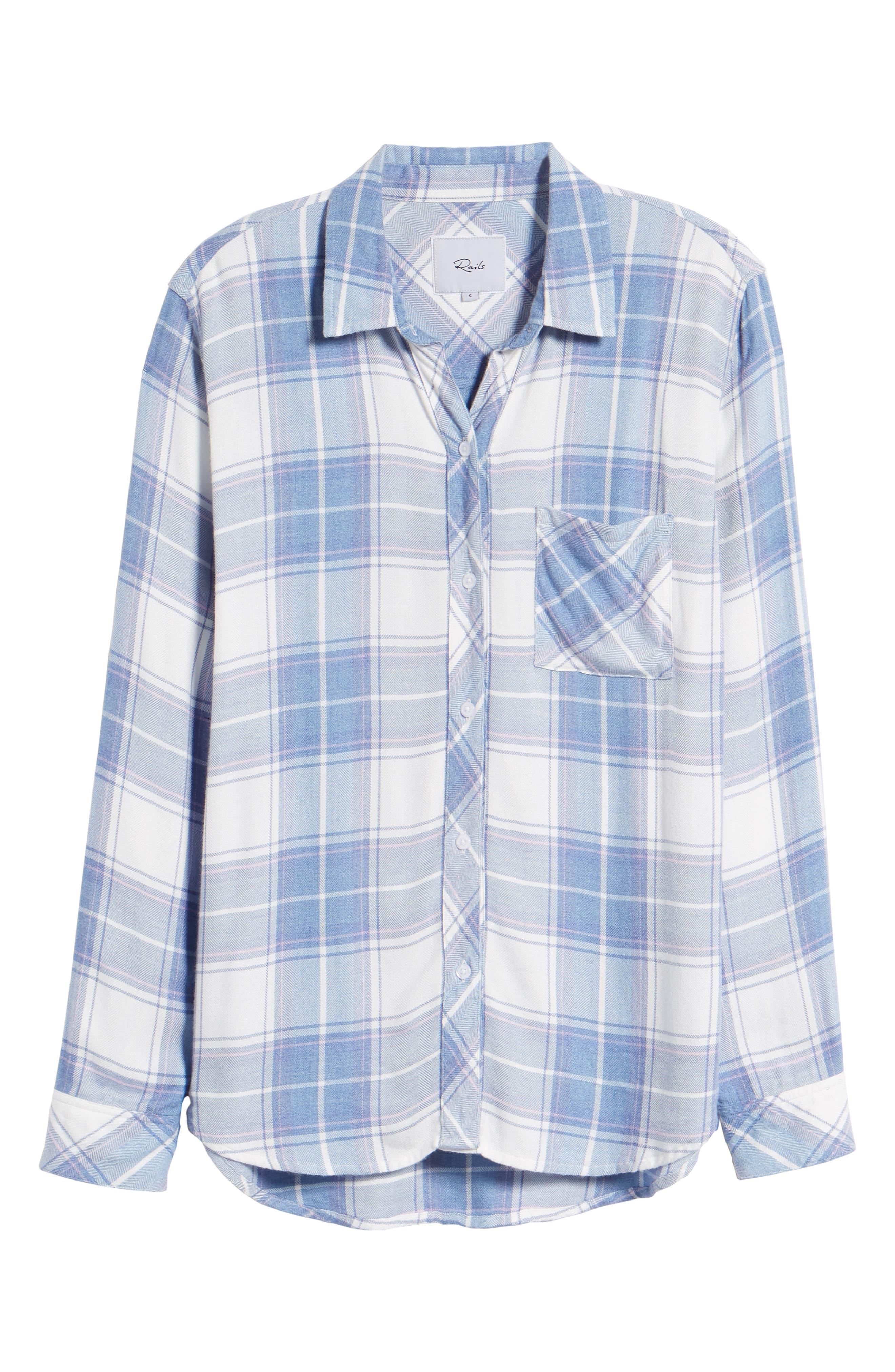 Hunter Plaid Shirt,                             Alternate thumbnail 709, color,