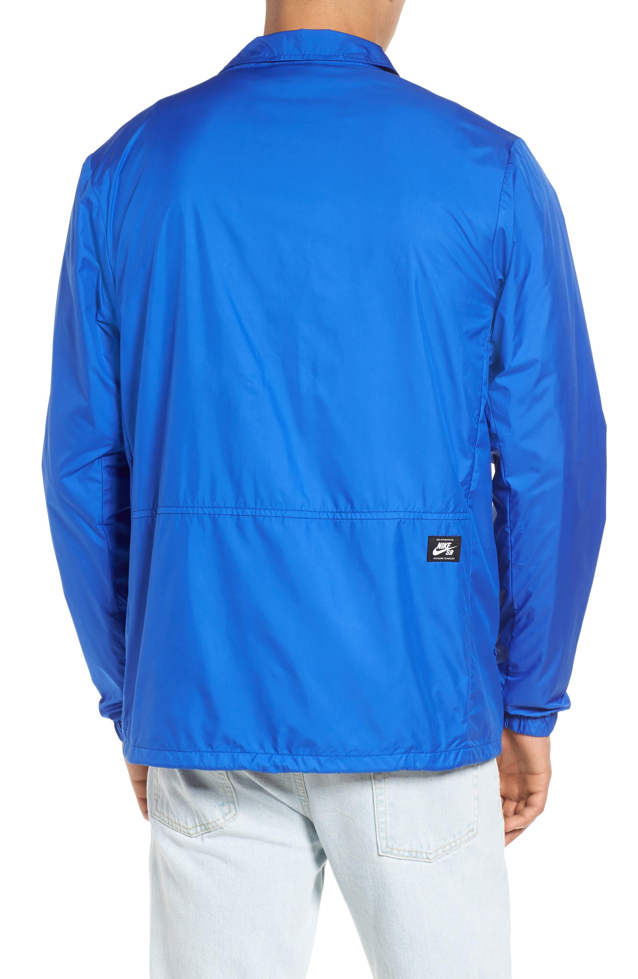 SB Shield Coach's Jacket,                             Alternate thumbnail 2, color,                             HYPER ROYAL/ WHITE